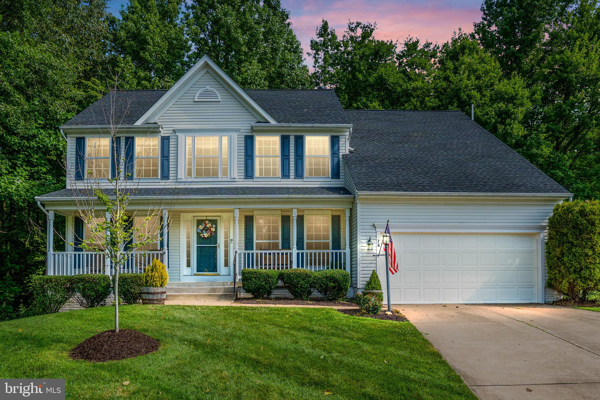 You're going to love this 5 bedroom, 3.5 bath home in Stafford Lakes. This home features hardwood floors throughout the main level, stainless steel appliances, a fully finished basement with walkout, and it sits at the end of the cul-de-sac next to woods which offers some privacy. The roof (2019), HVAC (2018) and hot water heater (2019) have all been replaced in the last 3 years. This house will not last long, welcome home.