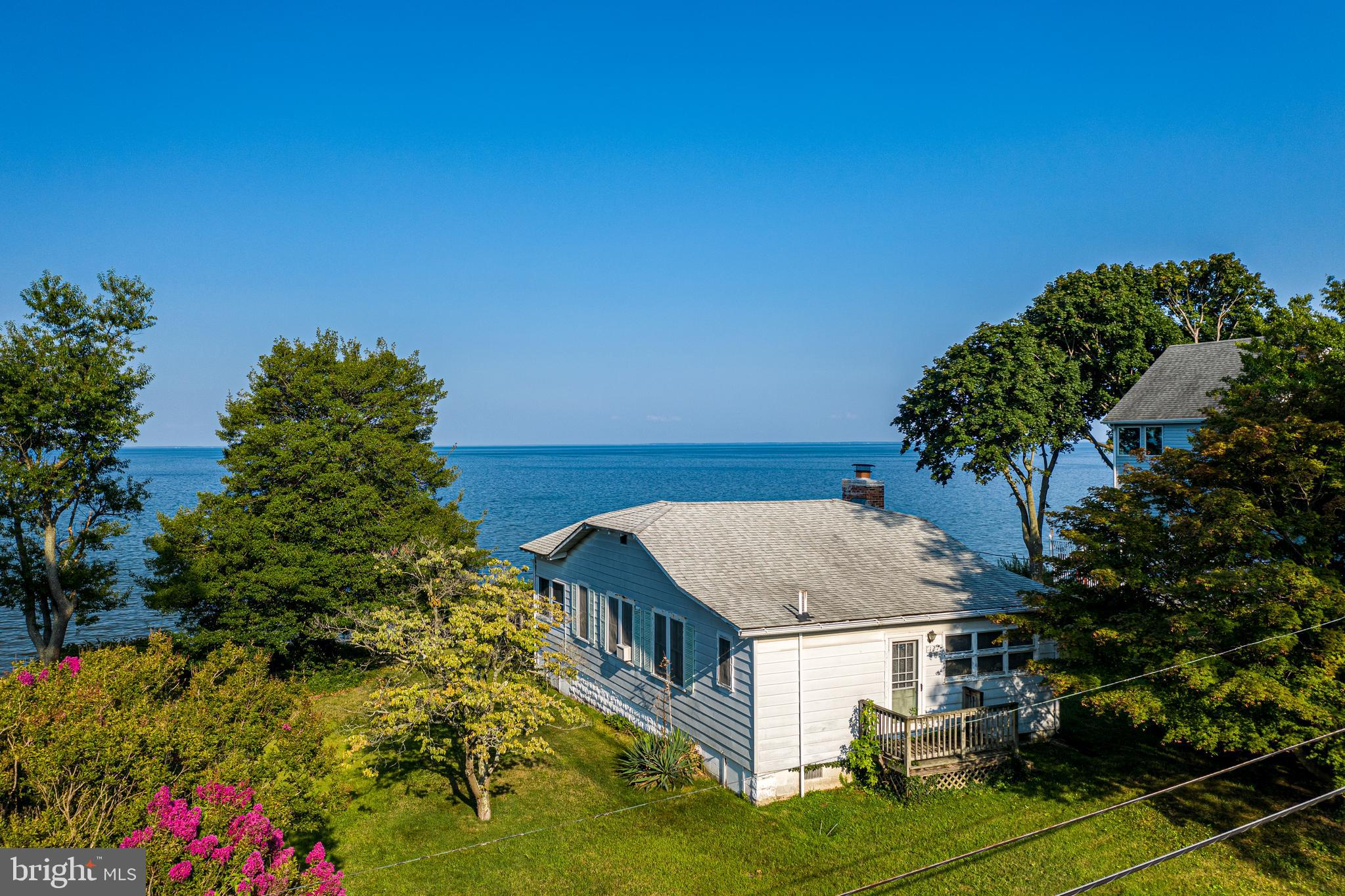 CHESAPEAKE BAY WATERFRONT!!!  With Stunning Views of the Chesapeake Bay!  Riprap at the waters edge