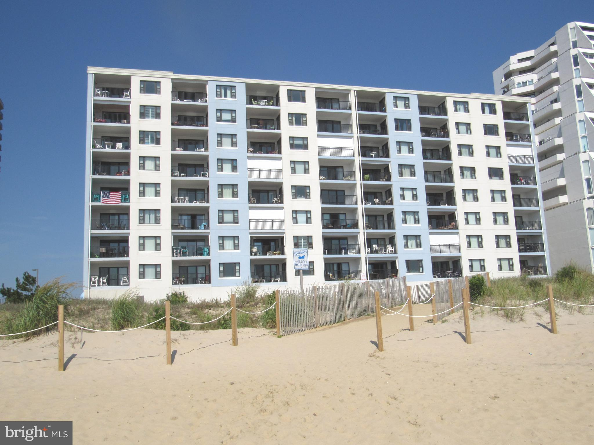 A fantastic direct ocean front 3 bedroom 2 bath 8th floor penthouse unit with great panoramic views