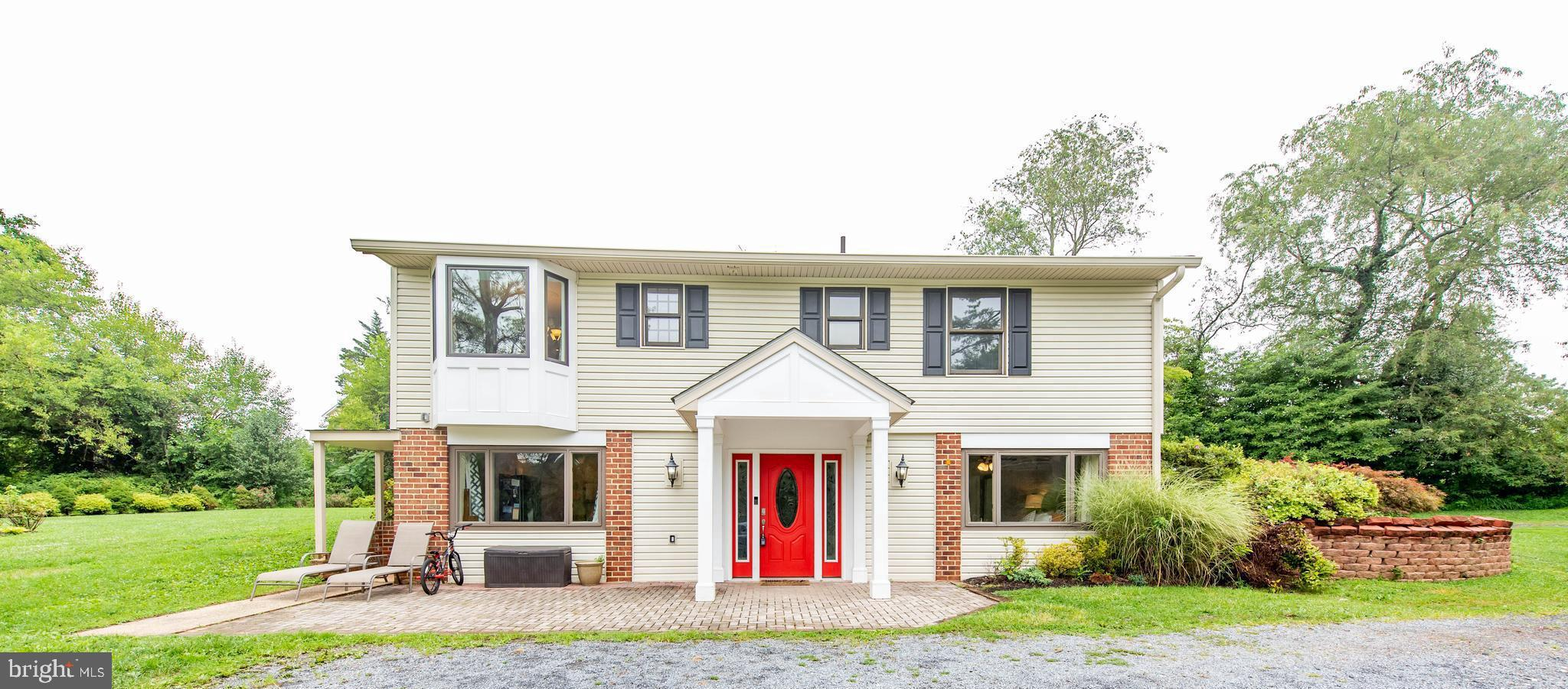 A western Howard County lifestyle is available in this stunning raised rancher situated at the end o