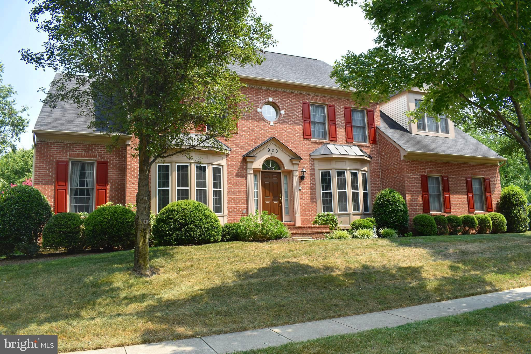 """Great Price for this Stately Brick Front Two Story Colonial in Annapolis – A True """"Entertainer's Dre"""