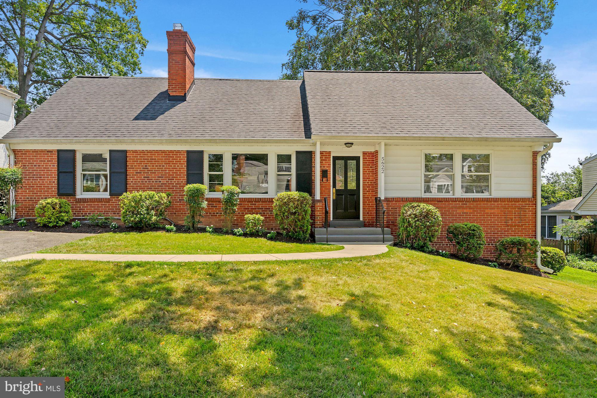 Located in Bethesda's desirable Springfield neighborhood, this fabulous home offers 3800 square feet