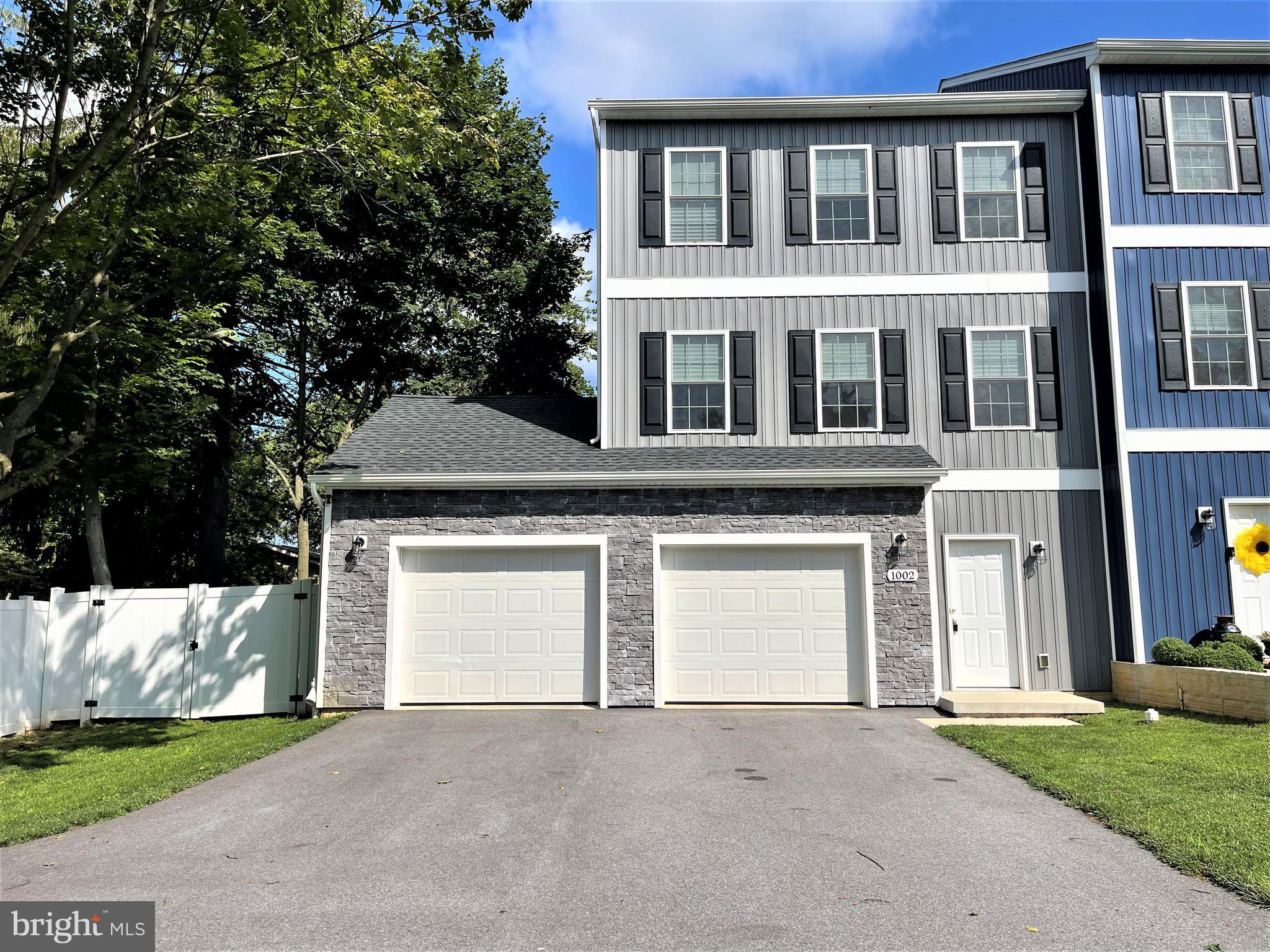 Welcome to 1002 N. Houcksville Rd.  -  This 1 .5 year young Villa (semi-detached) is in pristine con