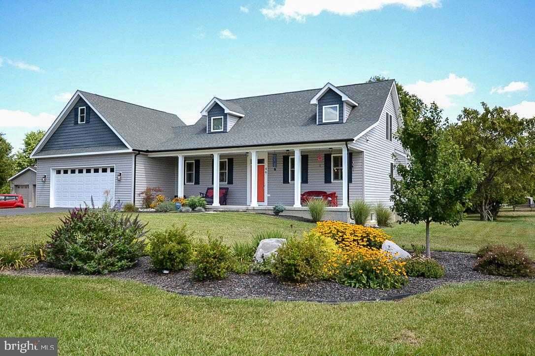 Almost new Cape Cod nestled on 1 acre between Shepherdstown and Martinsburg, a fantastic location fo