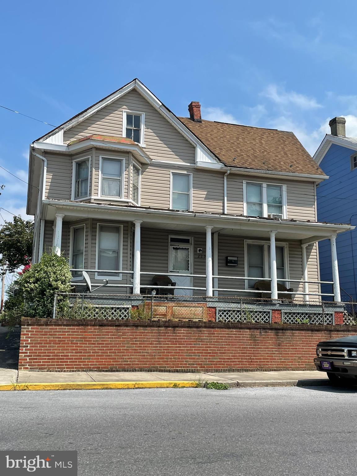 This large 4 bedroom, 1 full bath colonial has a lot of great potential. Needs some updating but is