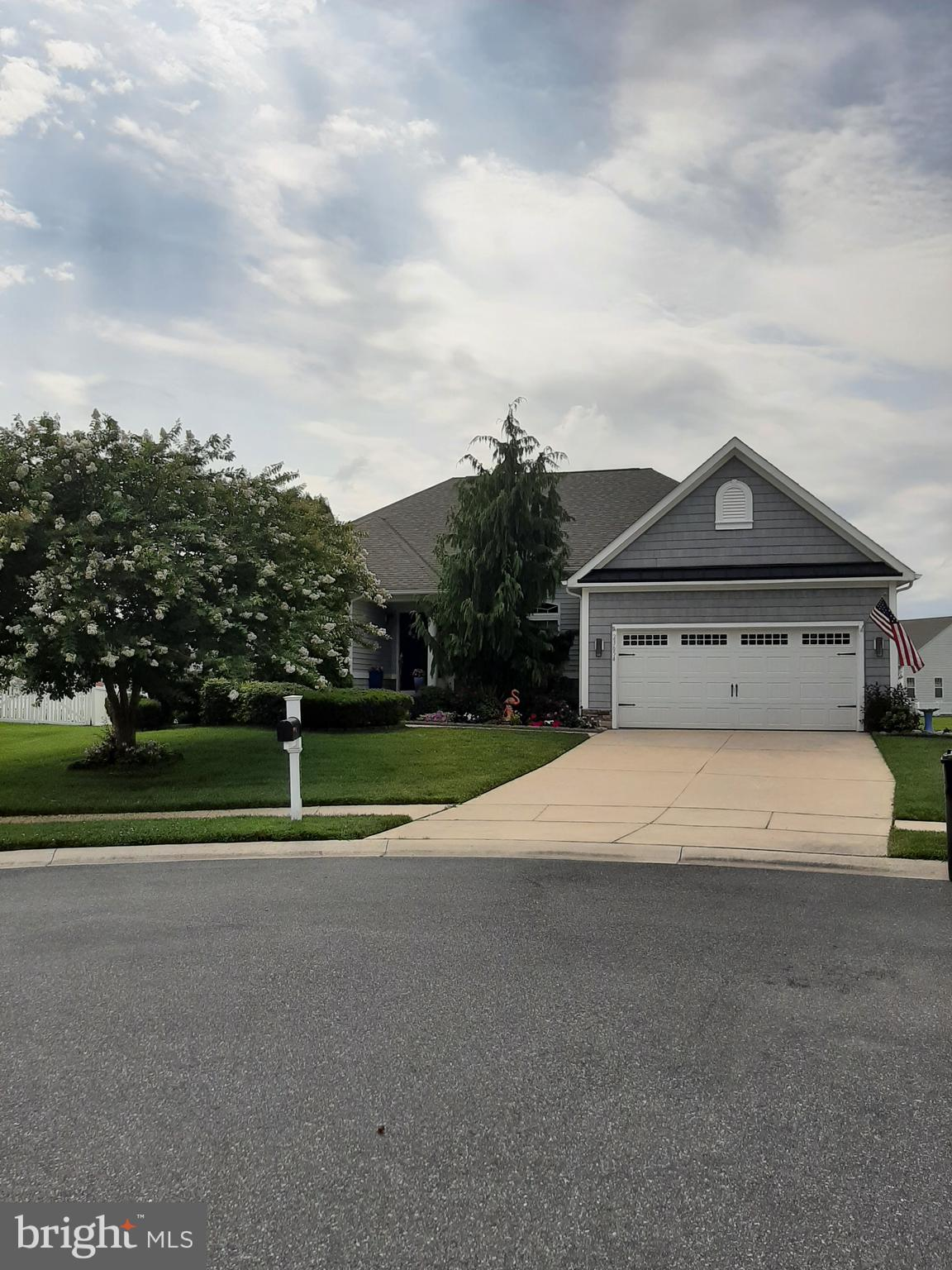 Beautiful ranch with a full basement on a cul-de-sac in the Bay Pointe community in Lewes.  Many upg