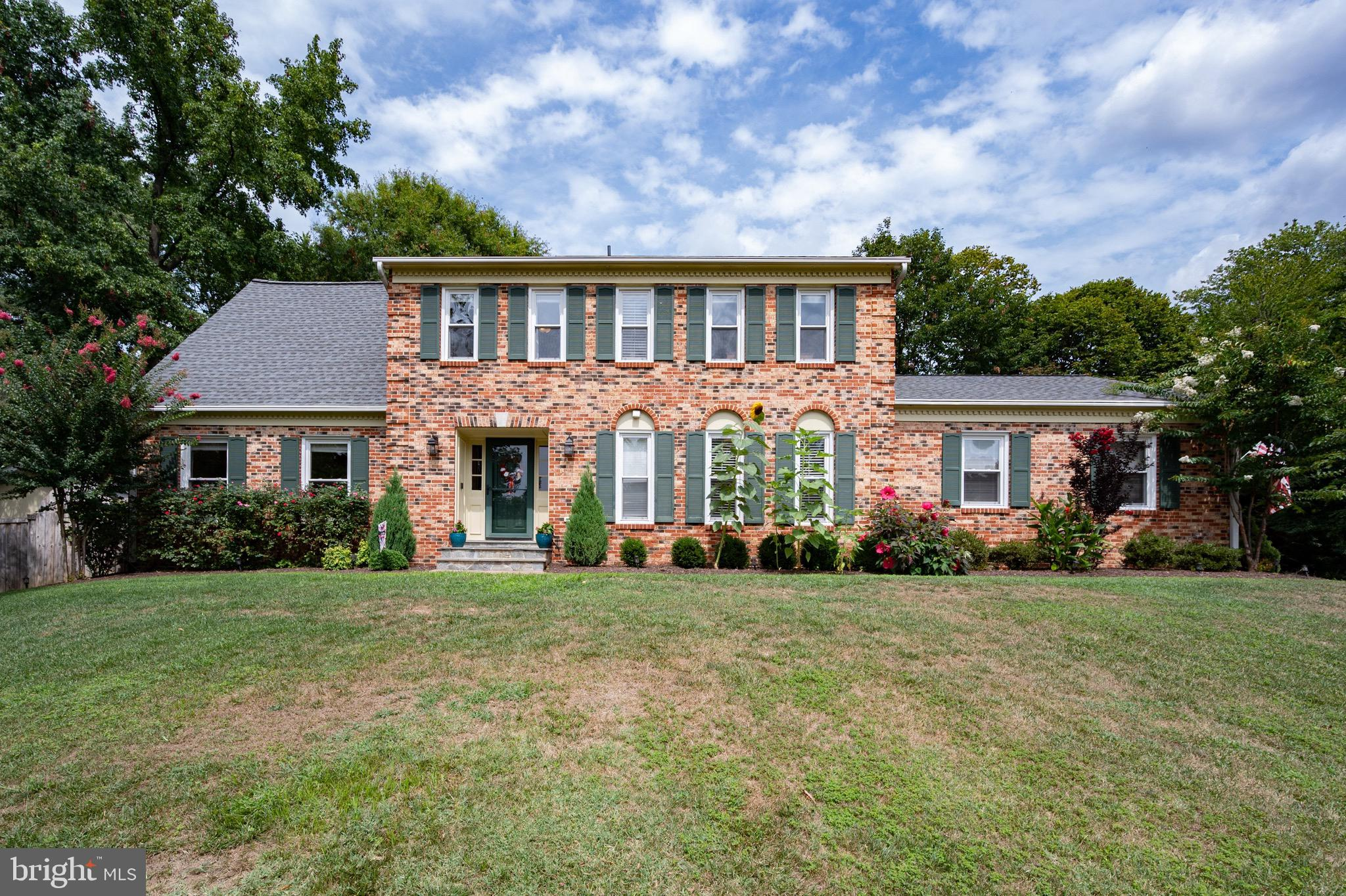 Wow!  Stunning three level colonial with quality renovations throughout.  Rare five large bedrooms o