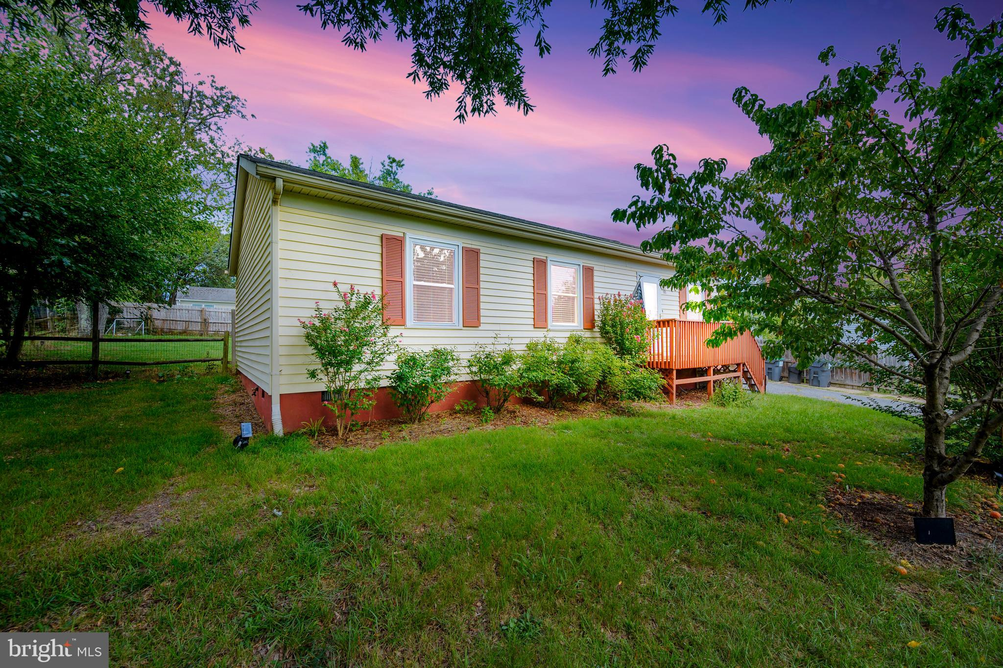 Remodeled rambler in the heart of Fredericksburg. This home has 3 bedrooms and 1.5 baths. Remodeled kitchen with table space. Great large covered porch in the backyard for entertaining. The shed in the back is a perfect bonus area for a man-cave or she-shed with carpet and drywall. Fenced backyard. Owner has sealed the crawl space. Home is move in ready and sold As-Is!