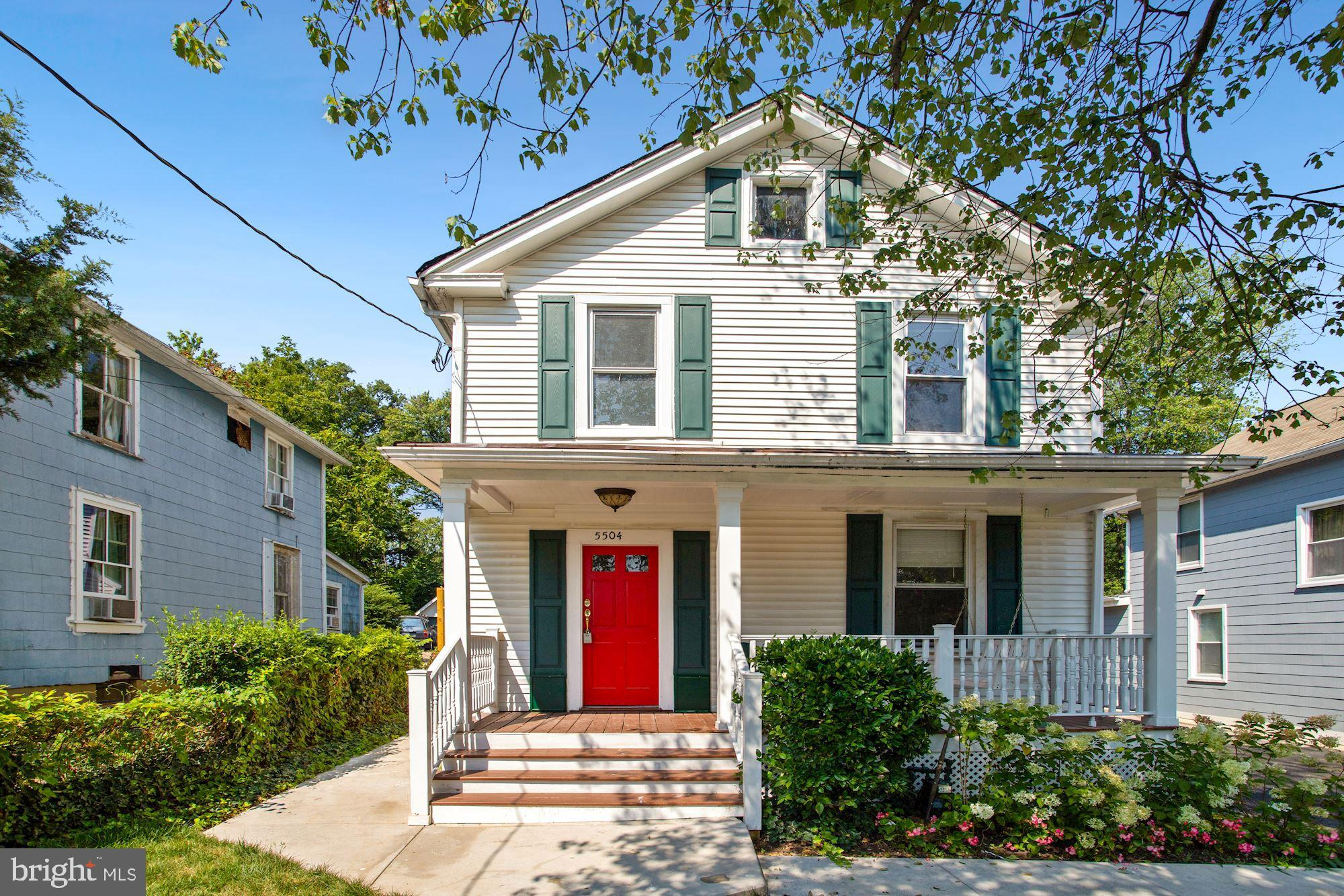 Welcome to this charming Victorian located in the middle of the action in Hyattsville, just a few bl