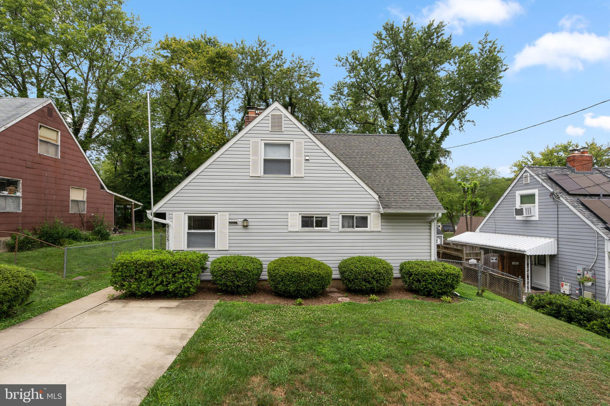This charming Cape Cod is a commuter's dream that gives you super close proximity to the Twinbrook M