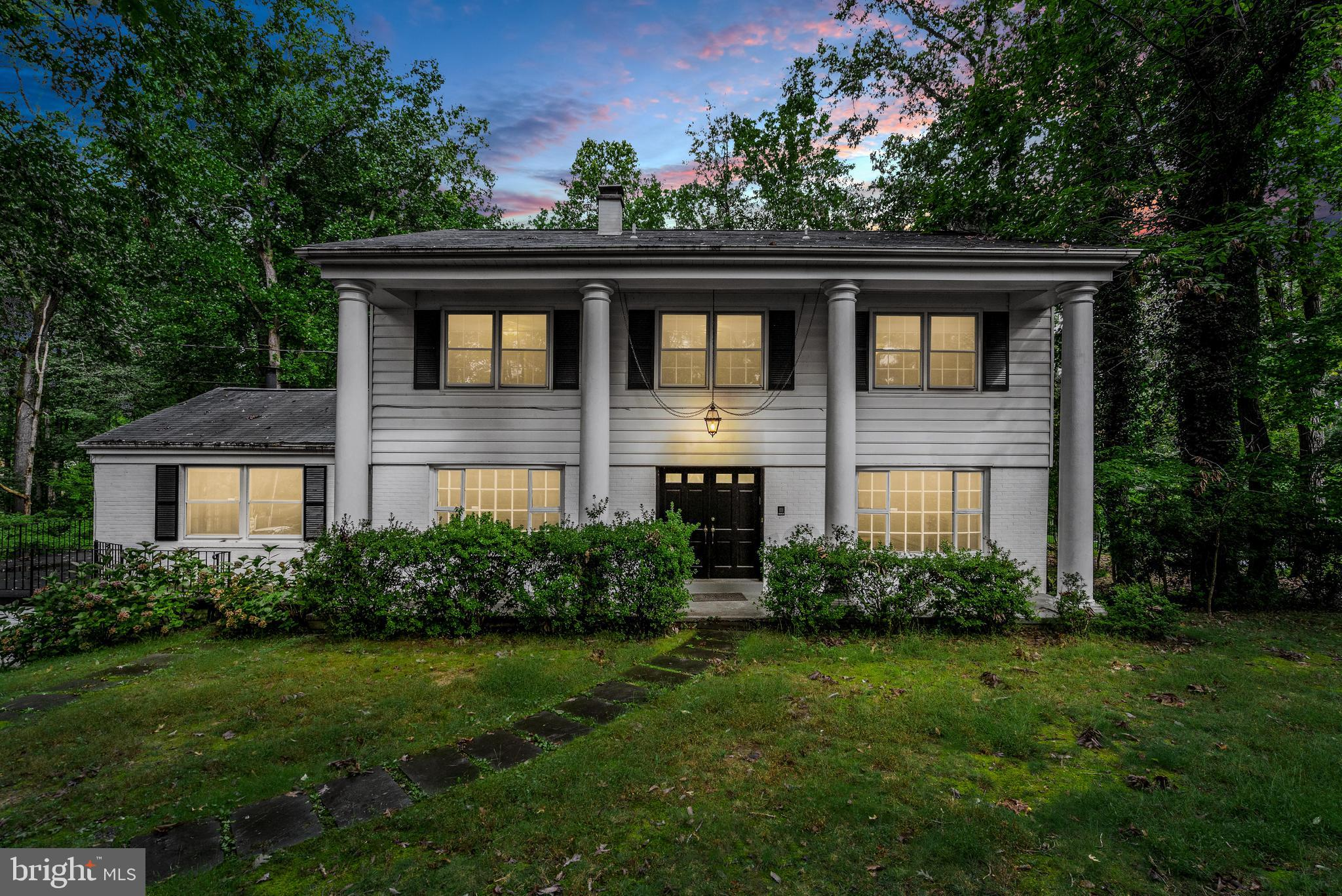 Located in the exclusive Bellview neighborhood of McLean, this classic colonial exemplifies idyllic
