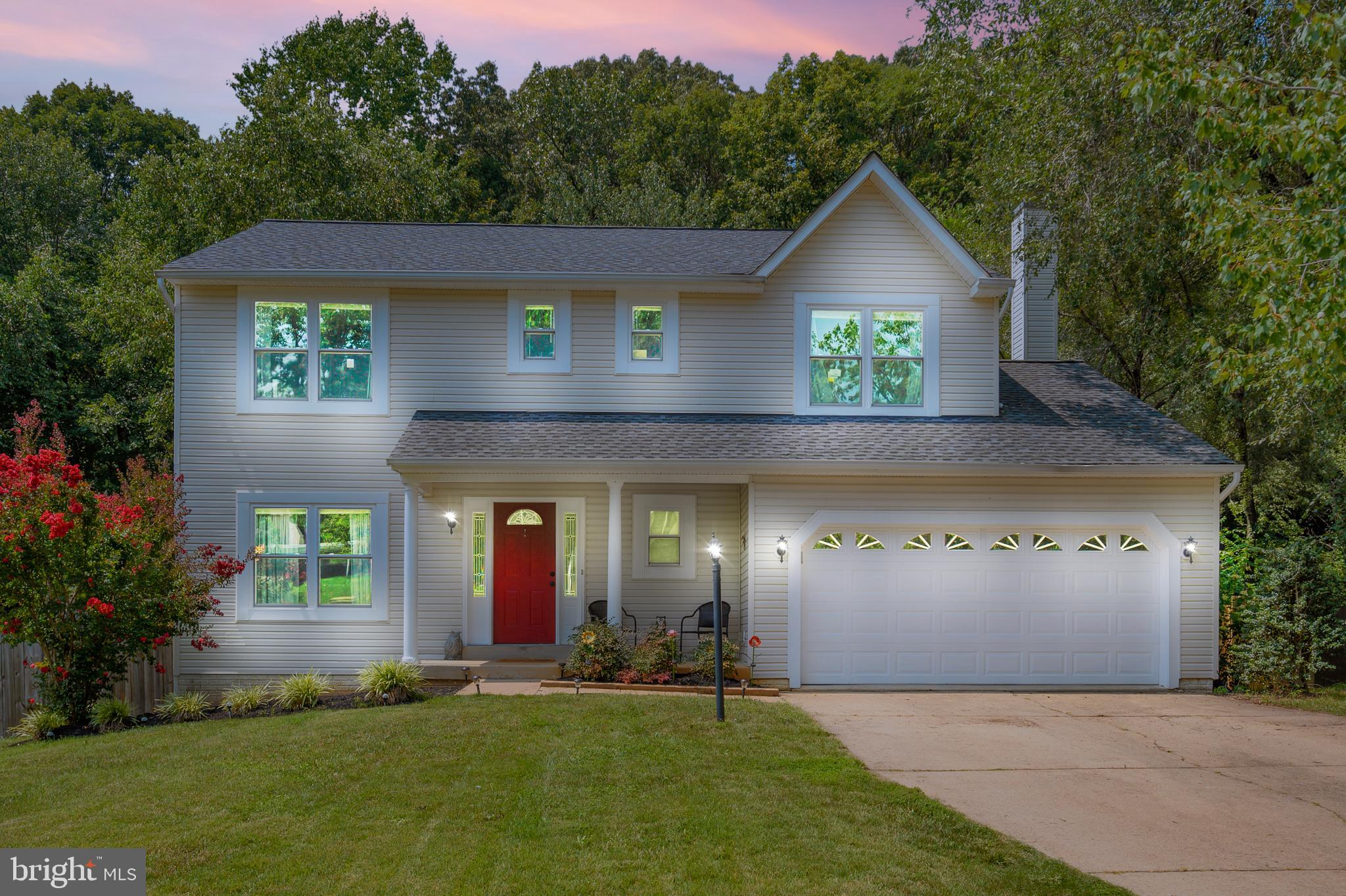 Welcome Home! Beautiful Colonial in a great location! Just minutes to Quantico Marine Corp Base, I95, shopping, and restaurants, yet provides plenty of peace and quiet. 4 bedrooms, 3.5 bathrooms and a  2 car garage .You enter the home on the main level greeted by a bright and spacious foyer.  Pretty as a picture with an updated kitchen, custom island, and stainless steel appliances.  Fully finished basement with bathroom. Fenced in private yard. Wonderful community with easy commute to major locations rage in sought after Stonebridge at Widewater.