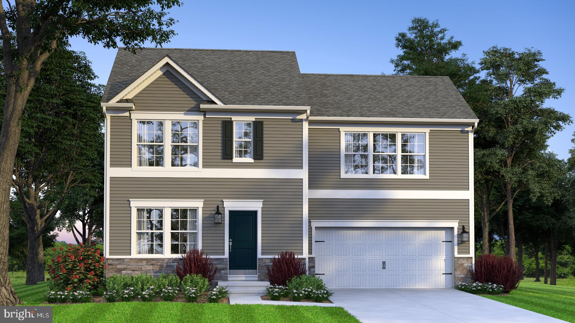 Opal Model offered by Gemcraft Homes. Two-Story Single-family home with 3 BR/2.5 BA, 1440 sq ft., w/