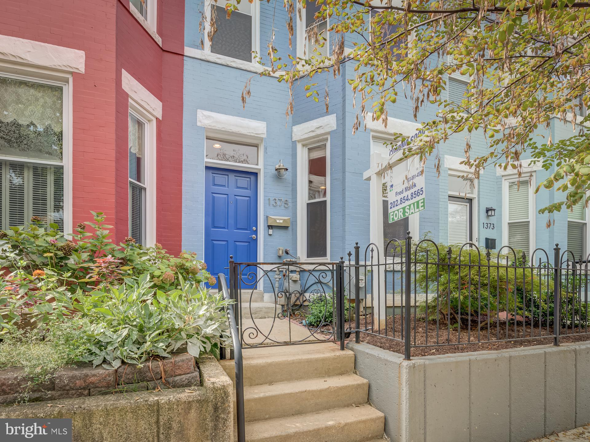 OFFERS DUE TUESDAY SEPT 14TH BY 5PM.   This charming 3-bedroom home on historic Emerald Street has it all!  The home has been beautifully maintained and was thoughtfully renovated with a modern open floor plan, exposed bricks, and new fixtures in 2014, with additional upgrades more recently.  A two-level bump-out provides for 3 uniquely spacious bedrooms and 2 full bathrooms upstairs, as well as a powder room and separate laundry area on the main level.    Updated plumbing, mechanical and electrical systems. Other features include: Ring doorbell and Ring floodlight camera installed in the rear; Ecobee Smart Thermostat with extra temperature sensor in the Master Bathroom; updated alarm system serviced by Vintage Security; UV clean air filter; and solar panels.   Excellent location.  The home is on a quiet and quaint block on the east side of the lovely Capitol Hill neighborhood, with easy access to parks, trails, Kingman Island, and the National Arboretum.  Many hip dining establishments nearby in the H Street Corridor area, Barracks Row/Eastern Market, and Union Market.  Also conveniently located to Union Station and a number of different grocery stores.  Don't miss this Emerald Street gem!