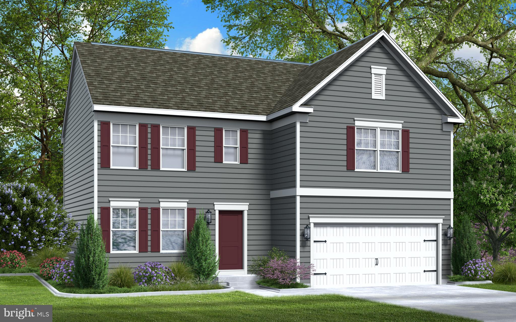 Ruby Model offered by Gemraft Homes. Two -Story single-family home, 4BR/2.5 BA, 2217 sq ft, 2-car ga