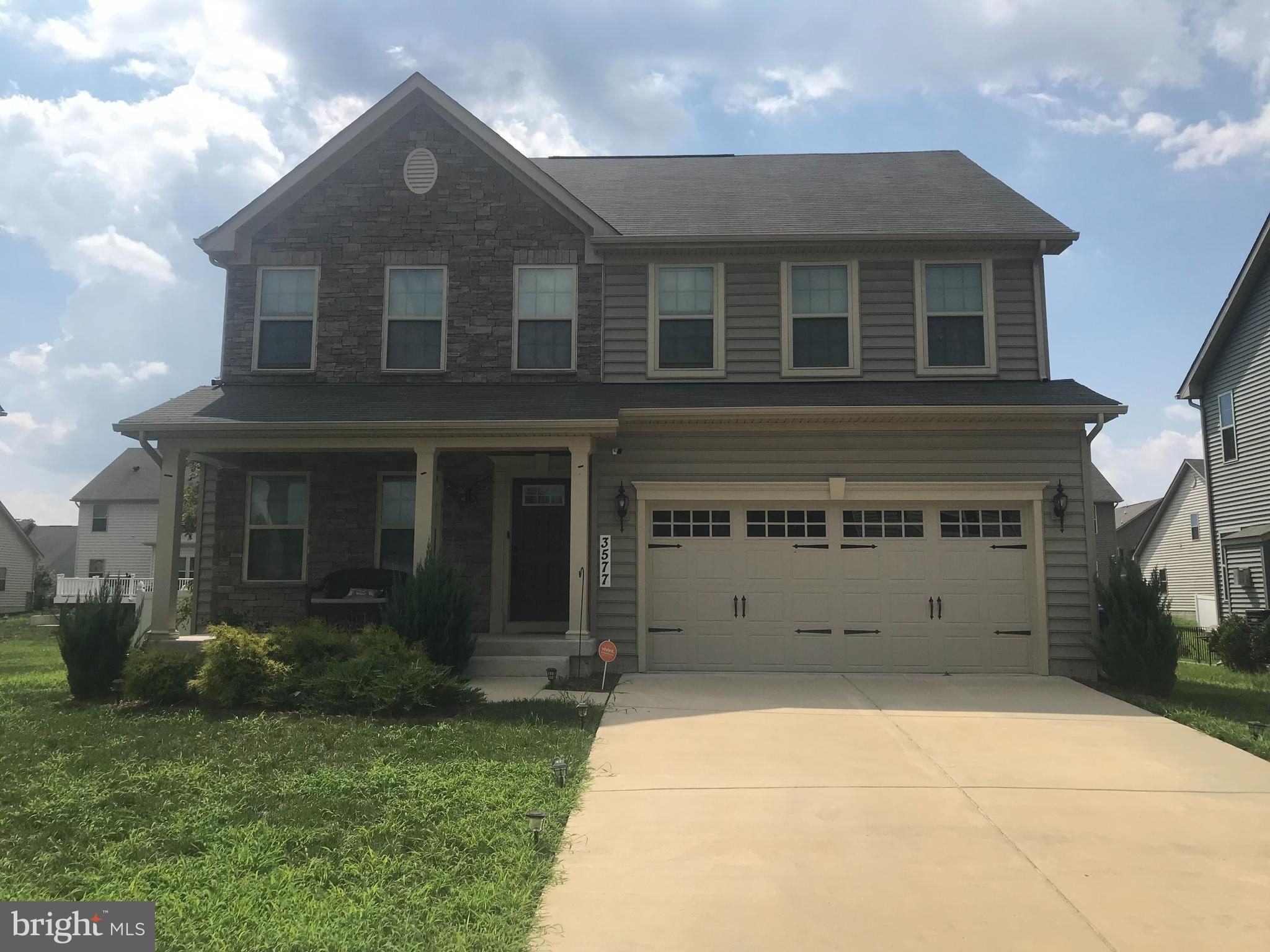 This spacious Colonial  home offers open family /kitchen combo with stone fireplace gas, 4/ bedrooms