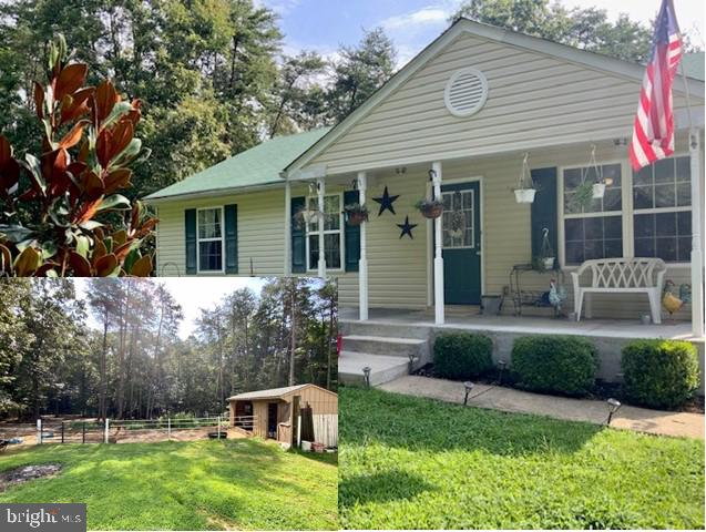 Charming rambler w/ full unfinished basement that could add for additional space, beautiful brick fi