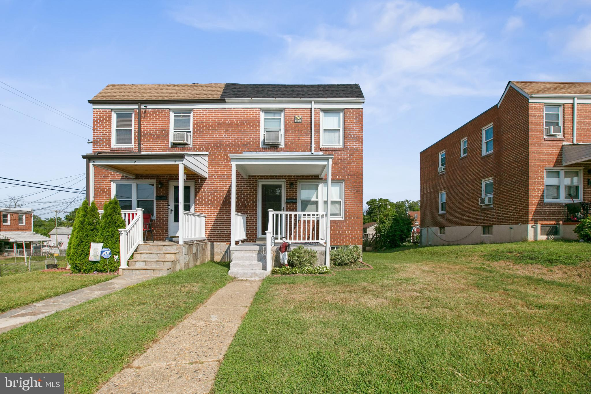 Welcome home to your brick 3 Bed 1.5 Bath duplex located in Violetville. The traditional floor plan features a Living Room, Dining Room, Kitchen, and Family Room on the main level. The top floor offers 3 bedrooms with ceiling fans and a Full Bath. The lower level is an open concept Recreation Room and Utility Space with a toilet.  Book your appointment today.