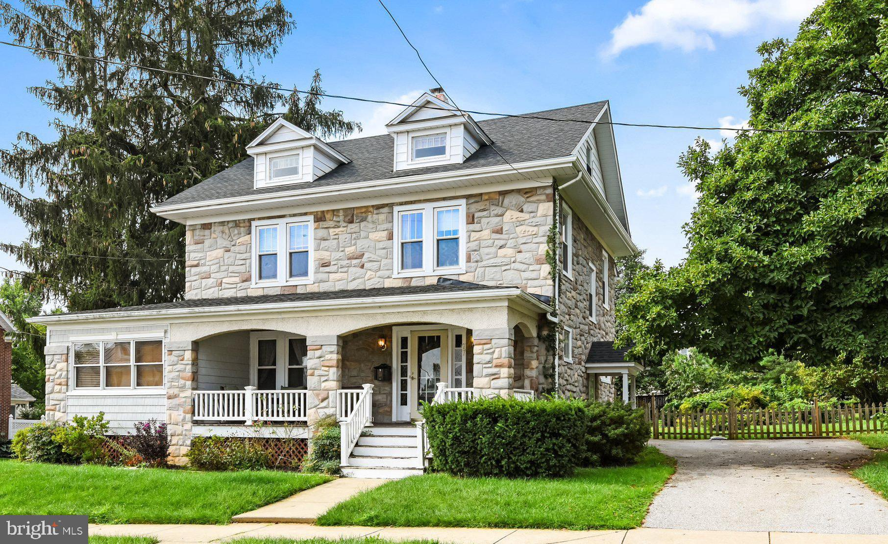 Perfectly perched on a corner lot in the coveted area of Downtown Westminster. This ALL STONE 4 bedr