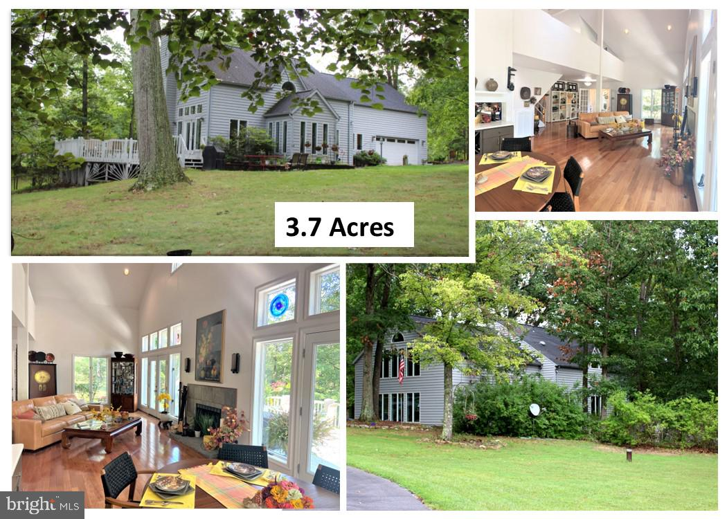 Very unique contemporary home in a lovely secluded setting.  A woodland wonderland.  Enjoy the  3243