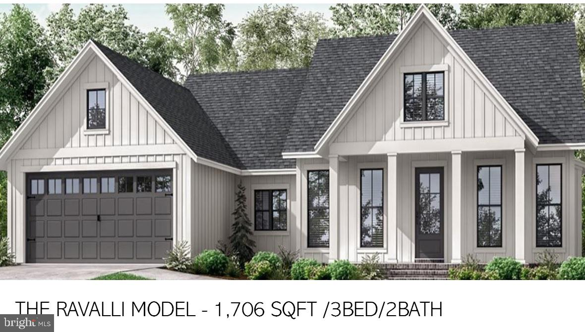 On our own  secluded lot we plan to build this beauty! one level farmhouse style home with all Medni