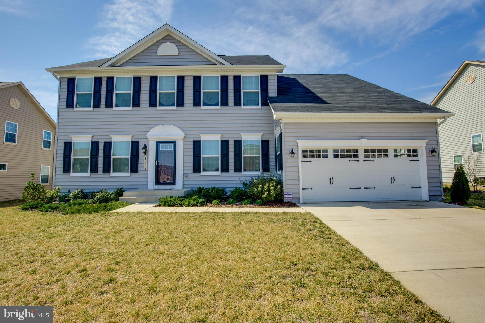 Stunning 2015 Custom built home with over 4500 finished sq./ft. on three levels. Open floor plan boasts gourmet kitchen with island, granite, Stainless Steal appliances, a mud room, sun room off of the kitchen, a formal dining room, formal living room & office/den. New Carpet in the Living Room.  Upstairs you will find 4 large bedrooms with 2 full baths and laundry room for ease. Relax in your spacious basement and enjoy family movie nights in the media room with space to build out an additional bedroom and full bath if desired.  Sellers did not skimp in upgrades and this is a definite must see today!!