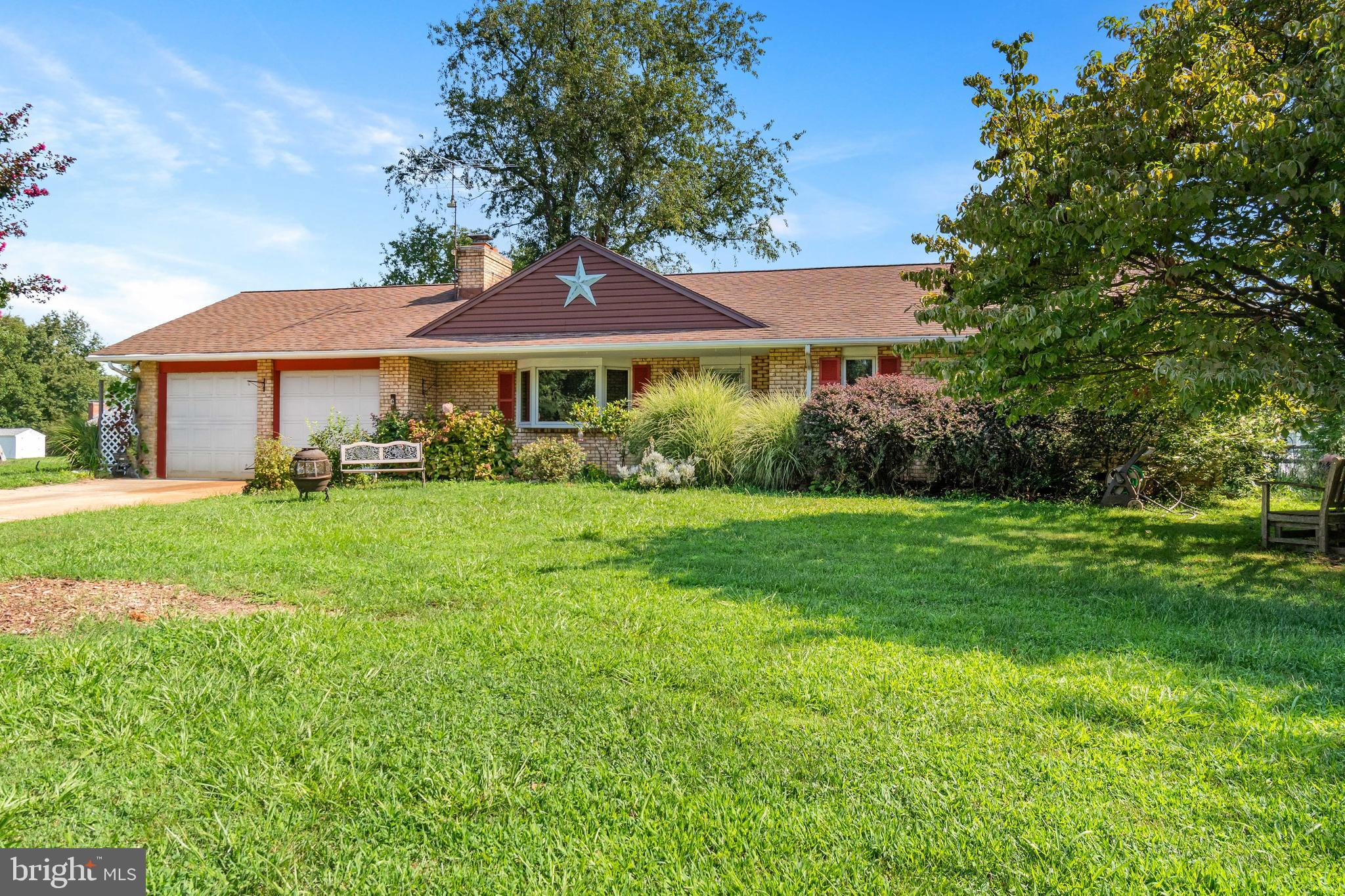This is a well built brick ranch. Beautiful hardwood floors. Three bedrooms 2 baths with one bath of