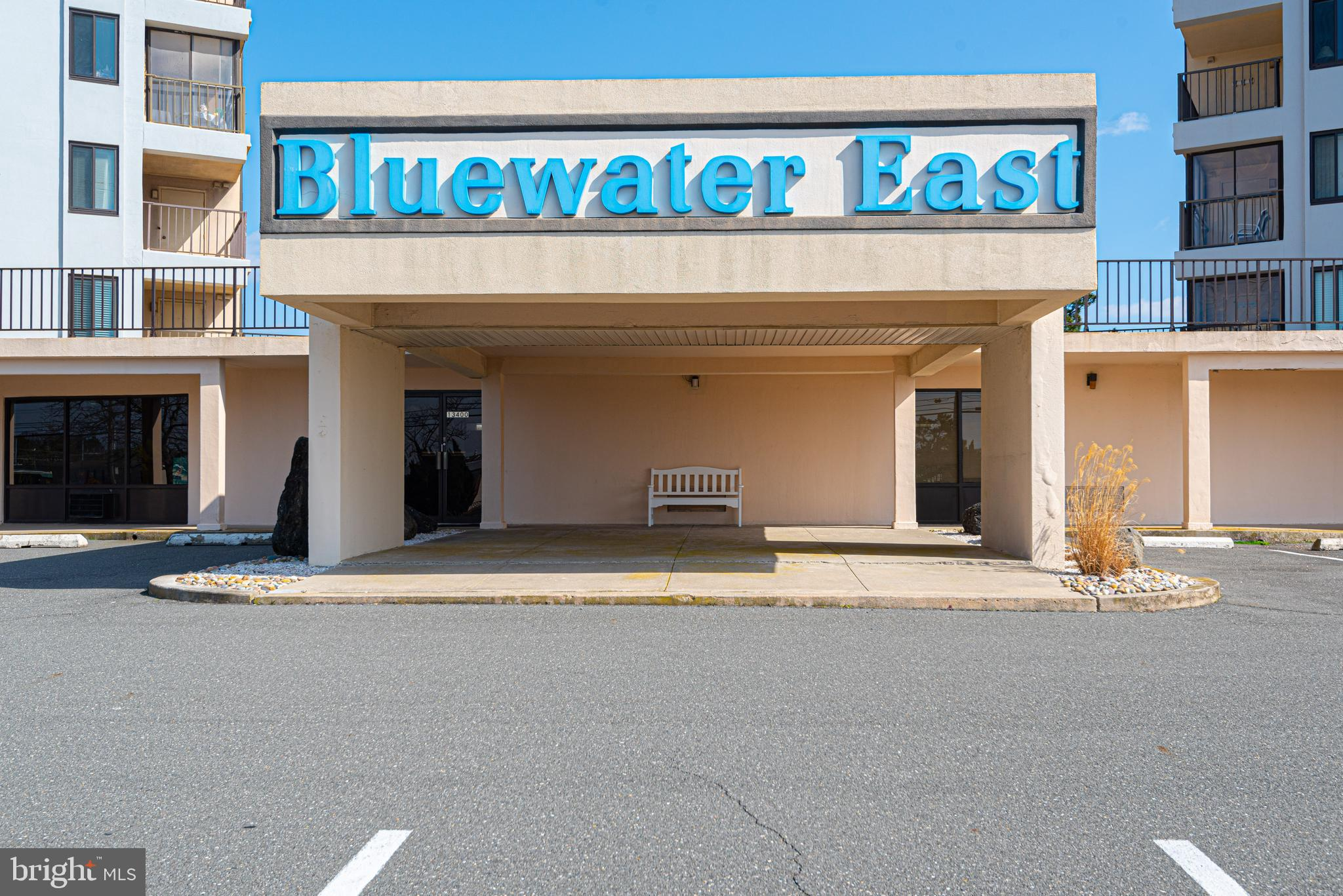 Just a short walk to the beach.  Bluewater East is located on the ocean block in North Ocean City on 134th St.  This affordable one bedroom one bathroom condo is a perfect getaway at the beach.  This is a Southeast facing unit overlooking the pool.  Kitchen and bathroom were updated in the past 5 years.  This condo is in a great location in N. Ocean City making it perfect for a relaxing vacation home or rental.