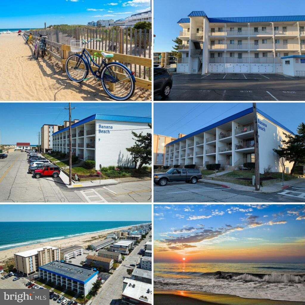 Welcome to Banana Beach!  Currently the best ocean view unit under $250,000.  This beautiful unit features a recently updated bathroom, washer/dryer, newer  HVAC  (2018) and HWH (2017).  This property is perfectly nestled in North Ocean City, just steps away from the beach and walking distance from Northside Park.  Making this a perfect vacation property for those who enjoy the beach and the many other activities within walking distance, including three lighted softball/baseball fields, two playgrounds, picnic area, two piers, a gazebo and walking/jogging paths.  This spacious 720 s.f. gives you a large bedroom (15X16) that could accommodate two queen beds and a large open floor plan living/dining area.  Enjoy the best of OC with many surrounding attractions and restaurants then return to relax on your large private balcony with a great ocean view.
