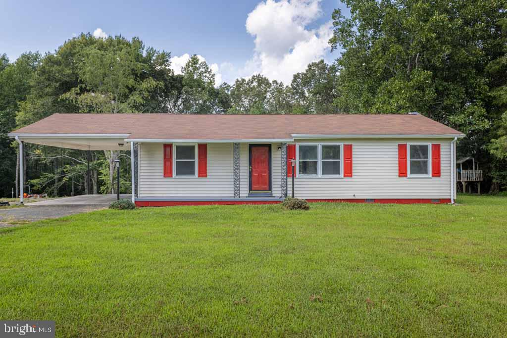 Completely renovated with new flooring and paint! This 3 bedroom, 2 bath rancher is conveniently located within minutes to I-64.  Large room off the kitchen will make a great game room and it leads to the large deck which is perfect for entertaining guest. Detached Garage, Carport and Storage Shed...Plenty of Parking for large vehicles and RV.