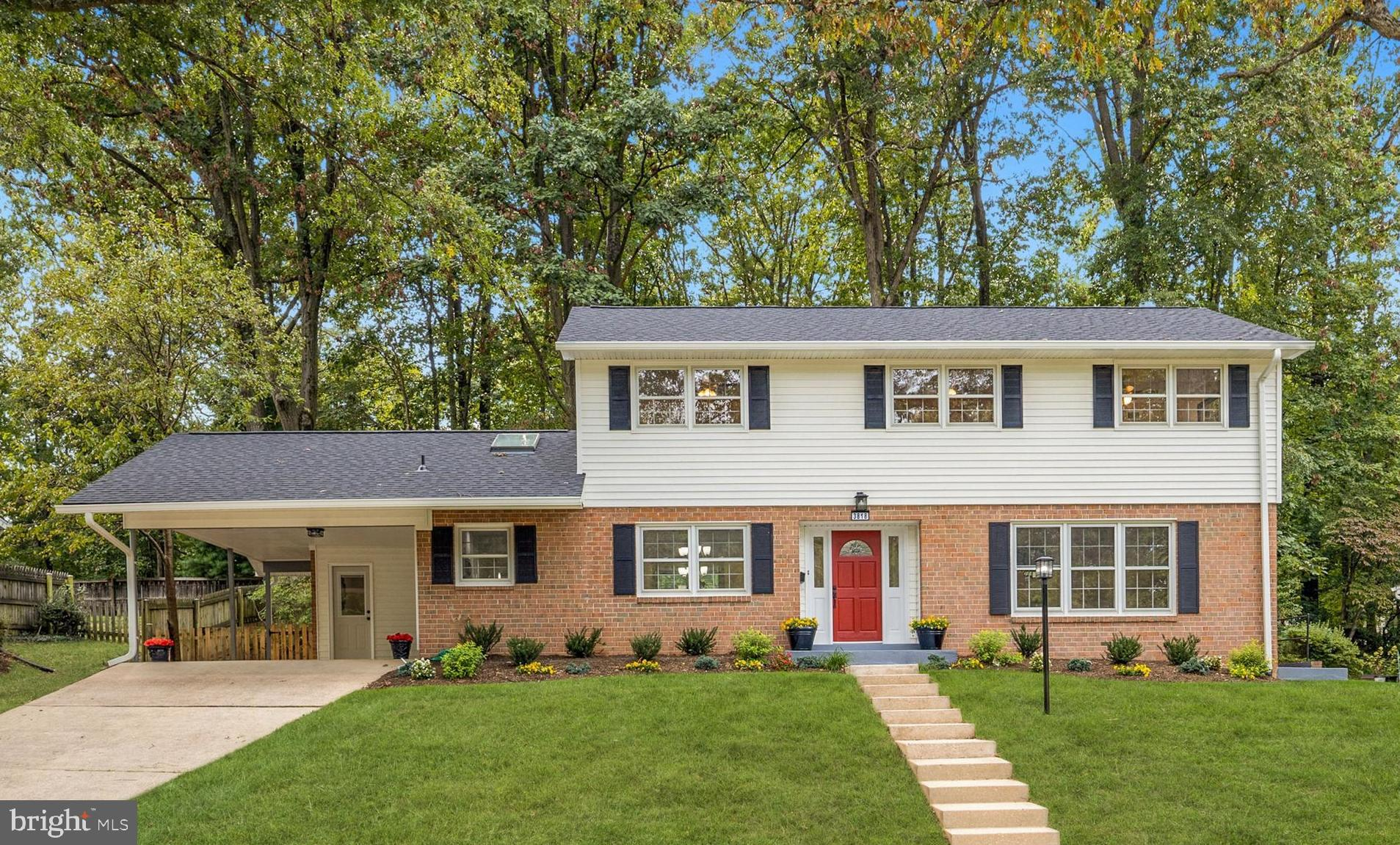 Stunning 5 bedroom 3 bath colonial renovation offering the finest in design. detail and craftsmanshi