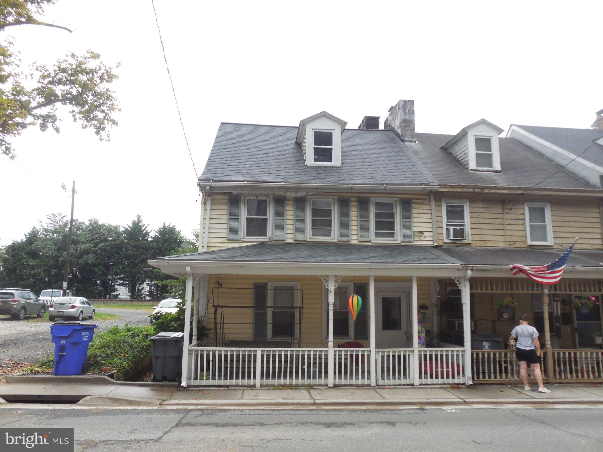 Fantastic rental property available in downtown Port Deposit, live in one and rent the other or rent