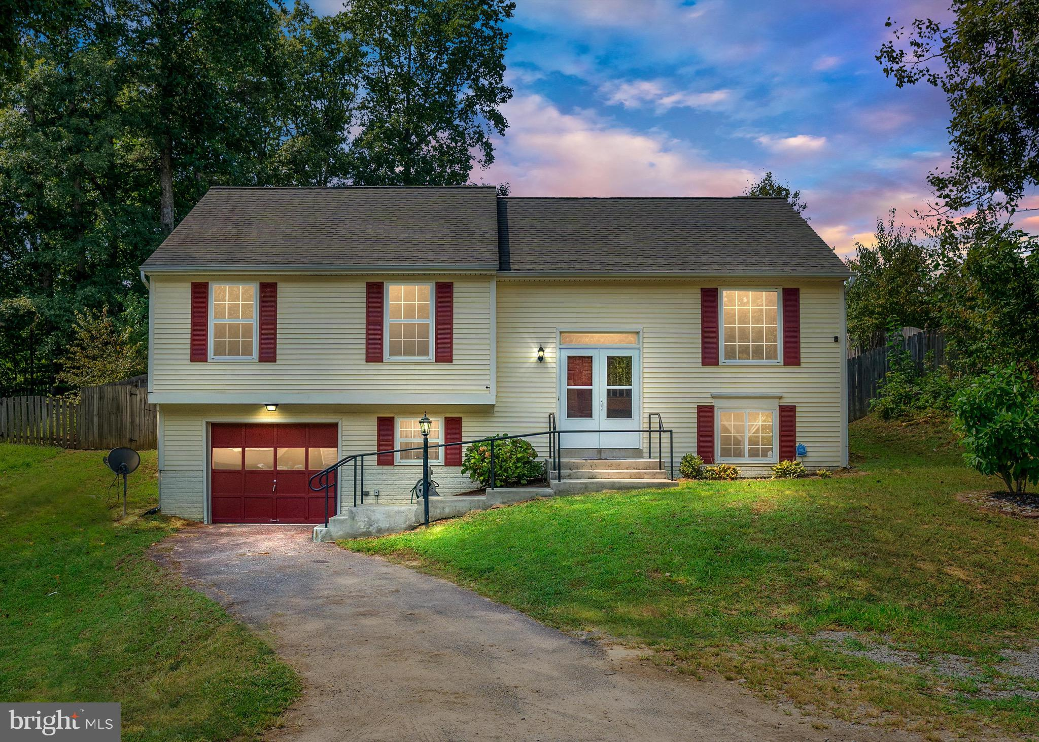 You're going to love this 4 bedroom, 3 bathroom home in South Stafford County. This home features a large eat-in kitchen, stainless steel appliances, enormous Master Bedroom, and a fully fenced backyard in a great location. There is a Bonus Room in the basement that could be used as another bedroom (NTC) or office. Minutes to the VRE, Route 1, I-95, and Stafford Hospital. Welcome Home.