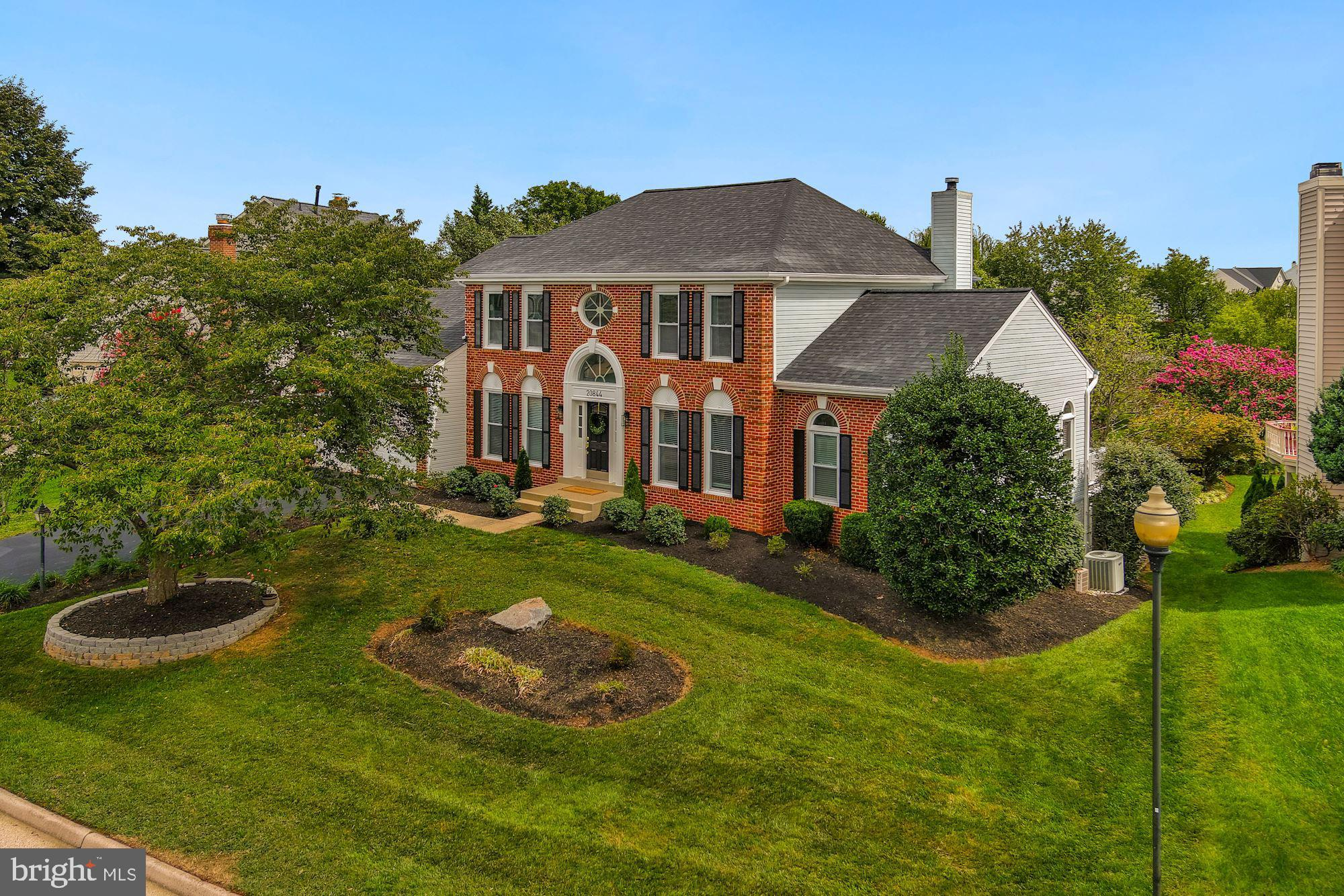 This beautiful brick home is located on a desirable cul-de-sac in sought after Ashburn Village. With