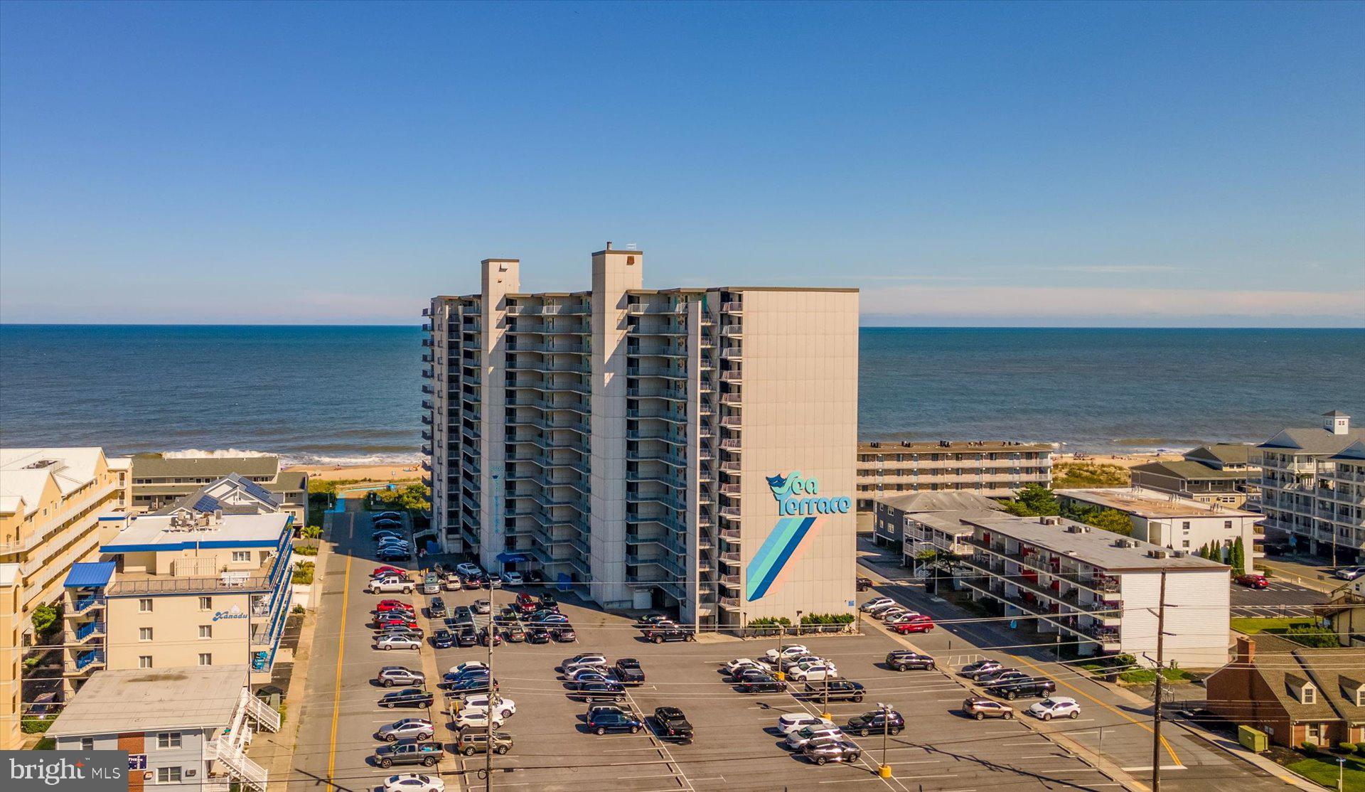 Large, direct oceanfront unit in Sea Terrace!  High and above the rest on the 12th flor, with breath