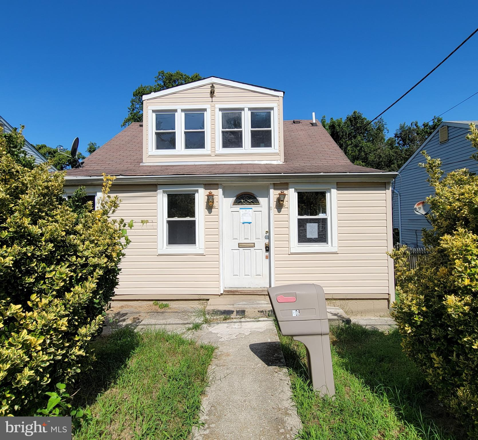 Well located property in close to DC.  Three level  house with rear addition and deep lot. Features