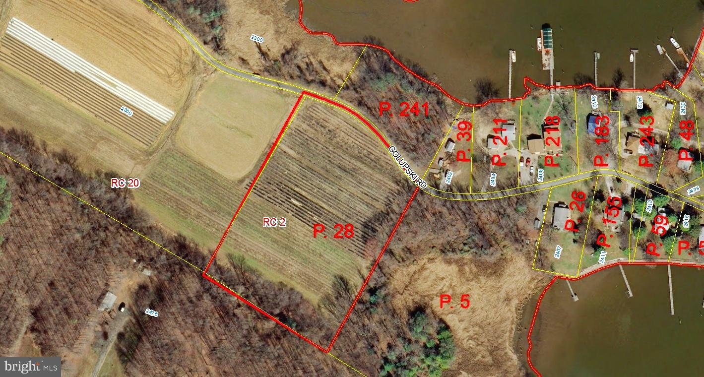 Spectacular Estate Sized Property with good elevation off the beaten path and consisting of 2 tax parcels 3.28 Acres m/l & 1.00 Acres m/l totaling 4.28 Acres m/l.  The 1 acre parcel is on the north size of Golupski Road and fronts on Browns Creek while the 3.28 Acres m/l parcel is on the sound side of Golupski Road and offers remarkable views into the Chesapeake Bay. This property is in a very remote area of the county and offers the opportunity for an estate property with water views and some water frontage. Buyers to verify any intended uses and potential subdivision possibilities with Baltimore County.