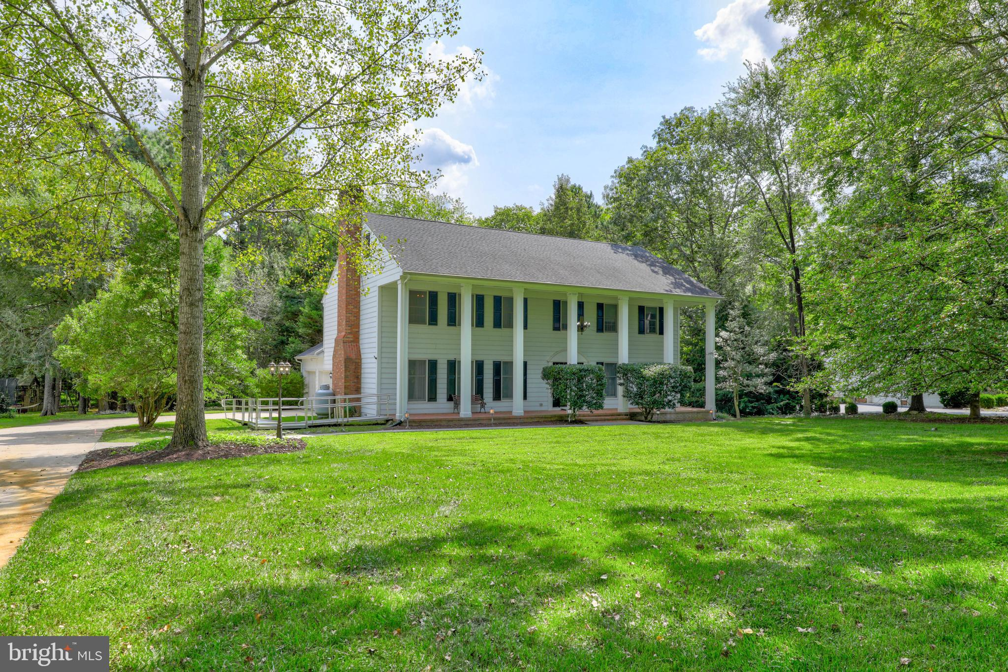 Large 5-6 bedroom Colonial in the Foxchase neighborhood of Southeast Salisbury. Some handicapped ame