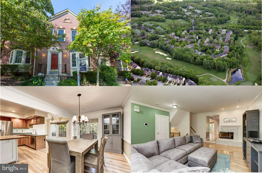 Beautiful and meticulously maintained brick front townhome located in the Village of Dorsey Search n