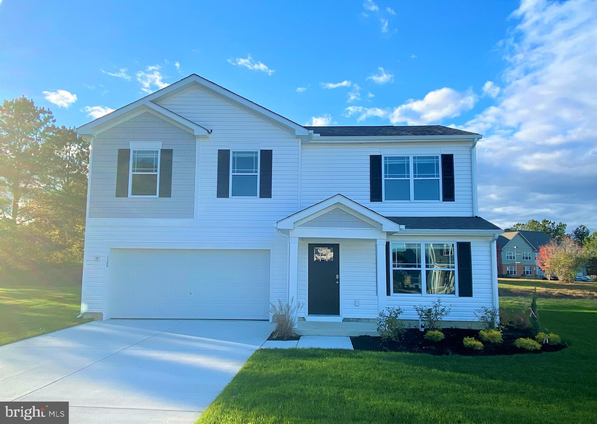 The Glendale is a 1,649 square foot, open concept two-story home that offers four bedrooms, two and