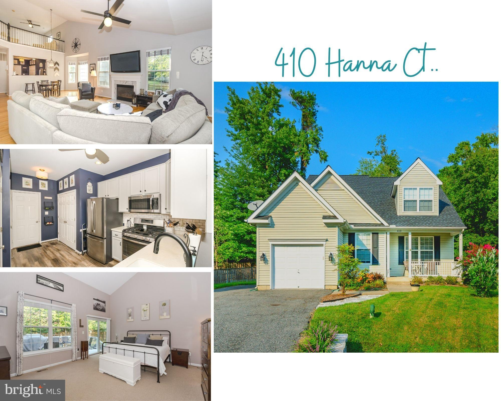 Welcome to 410 Hanna Ct.! Located in a quiet cul-de-sac in the sought-after community of Clayborne W
