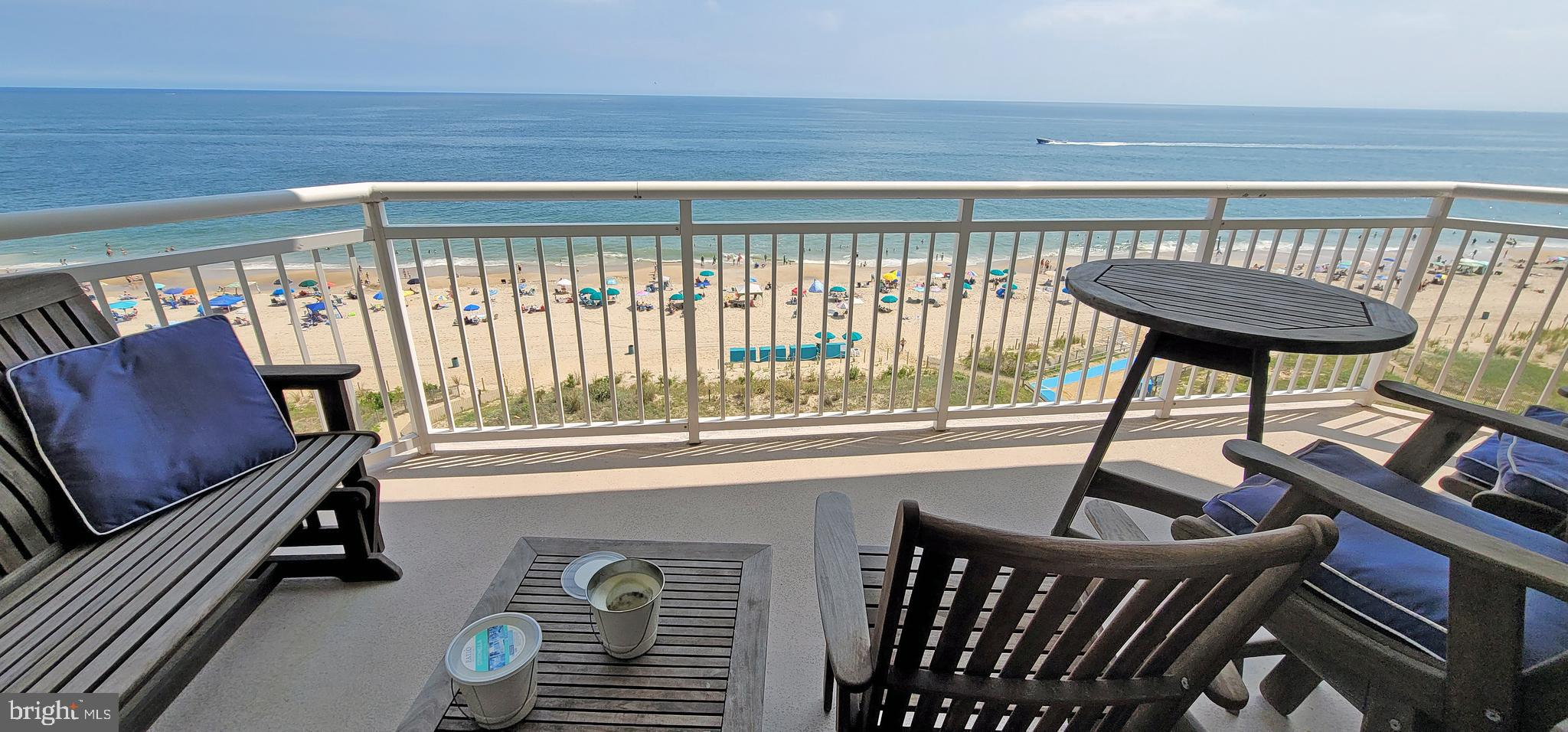 Luxury awaits you with this Direct 3-bedroom 3-bathroom Condo in the Gateway Grand.  A private location at the end of the hall on the south side of the building makes this one a must see.  Once inside your surround by the finer things in life featuring designer furnishings, Tile floors, granite counters, wine cooler, stone backsplash, electronic hunter blinds and condition beach storage #63.  Relax in the Oceanfront Master bedroom with amazing views from all sides.  The Gateway Grand offers on-site management, indoor and outdoor pools, fitness center, kids' playroom, conditioned beach storage, 3 owner's lounges, community patio, beach volleyball, secure parking garage, Electric car chargers and surfaced overflow parking lot.  If you are looking for a building that, has it all this one is for you.  Call for your private showing.