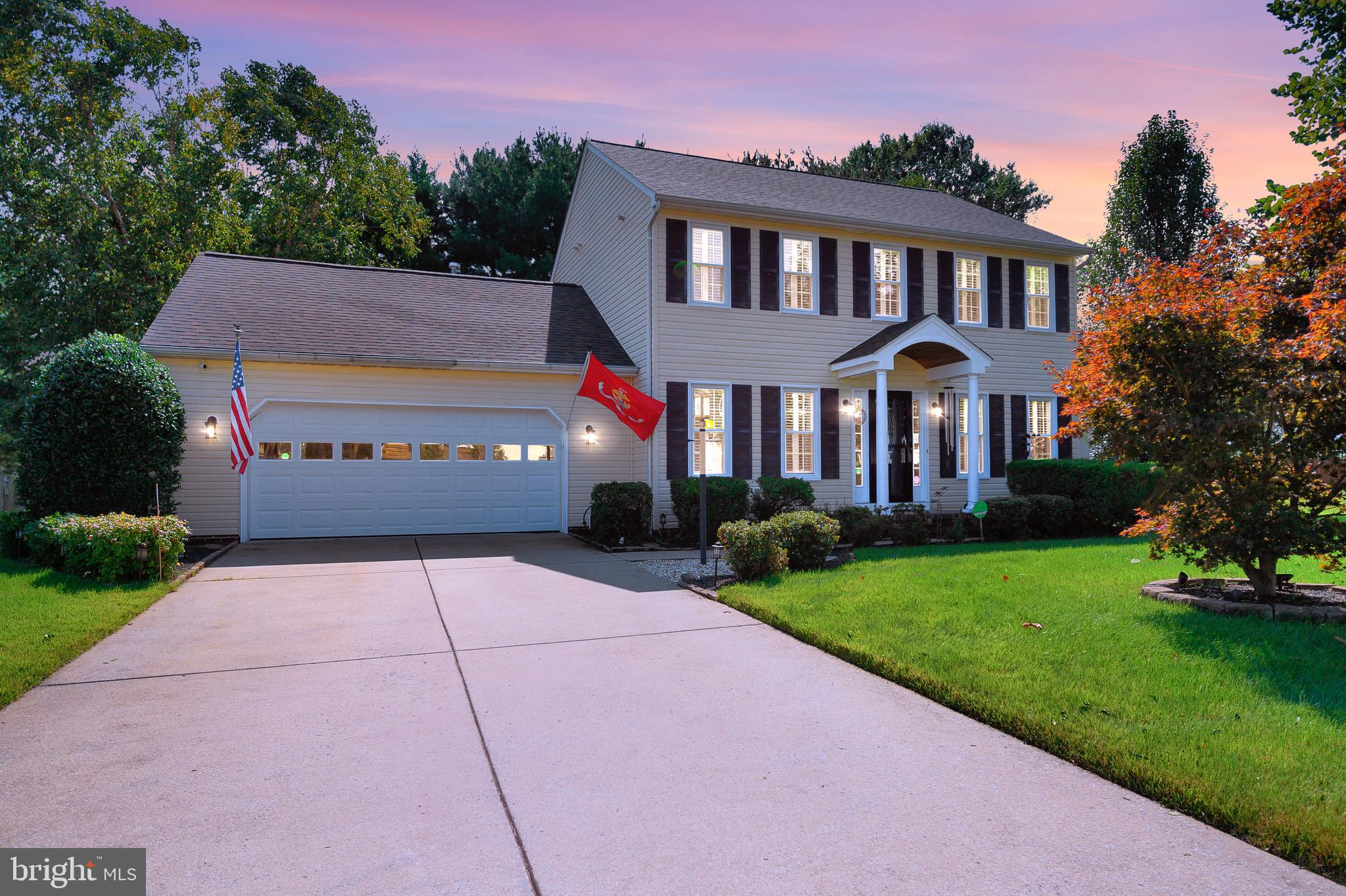 WOW! Put this beauty on your MUST SEE list!!!  This home was built in 2002, it is believed to have over 1700 sq ft with 3 bedrooms and 2.5 baths, 2 car garage, screened in back porch, fresh sidewalks, and an adorable shed, great for storage! This lovely Colonial Home in River Meadows Subdivision?, c?onveniently located off of Rt. 2, near Shannon Airport? & j?ust minutes to Downtown Fredericksburg, hotels, shopping & medical, schools, and all major thoroughfares.  When you pull up the first thing you'll notice is the welcoming curb appeal and lush landscaping! Just wait until you get inside!  ?You'll immediately know this is a very well loved and maintained home. From the pleasant dining room, stunning kitchen and covered patio, entertaining will be a breeze! On cold winter nights, you'll enjoy snuggling by the fire in the family room while watching your favorite movies, sports or flicks! And the living/flex room has unlimited possibilities! Upstairs the primary bedroom is spacious, yet comfy and offers an updated primary bathroom complete with dual sinks, soaker tub and walk-in shower. And don't forget to check out the closet system. Two additional bedrooms, bathroom and upper level laundry area complete the upper level. Now, let's head to the garage where you'll find great storage, workshop space, and a delightful Lifestyle Screen System, which turns your garage into an airy, pest free space! Exterior home presents great landscaping, offering beauty and privacy.  Don't worry, of course there is an irrigation system, keeping your lawn, trees and shrubs show worthy!  The back yard is also fenced and no one can build behind you, offering even more privacy!  ?Most recent updates: Lifestyle Garage Screen System in 2020, Extra insulation added in 2020, Dishwasher & Microwave in 2020, 50 yr Roof in 2019, ,  Exterior lights in 2019, Back Patio/Sidewalk in 2018, Trane AC in 2017, Hot Water H?eater,  Gas Range, Kitchen Counters & Floors in 2015, Windows & Shutters in 2012.