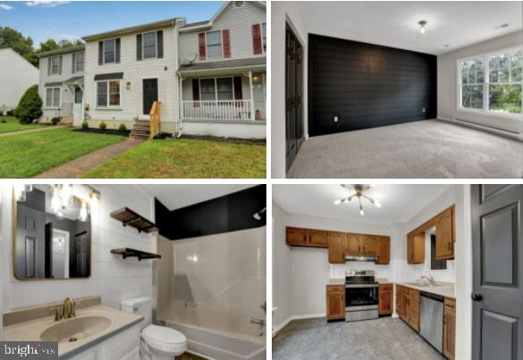 Lovely move in ready remodeled unit with flashy new trends!  New dazzling lighting, ship lap, custom