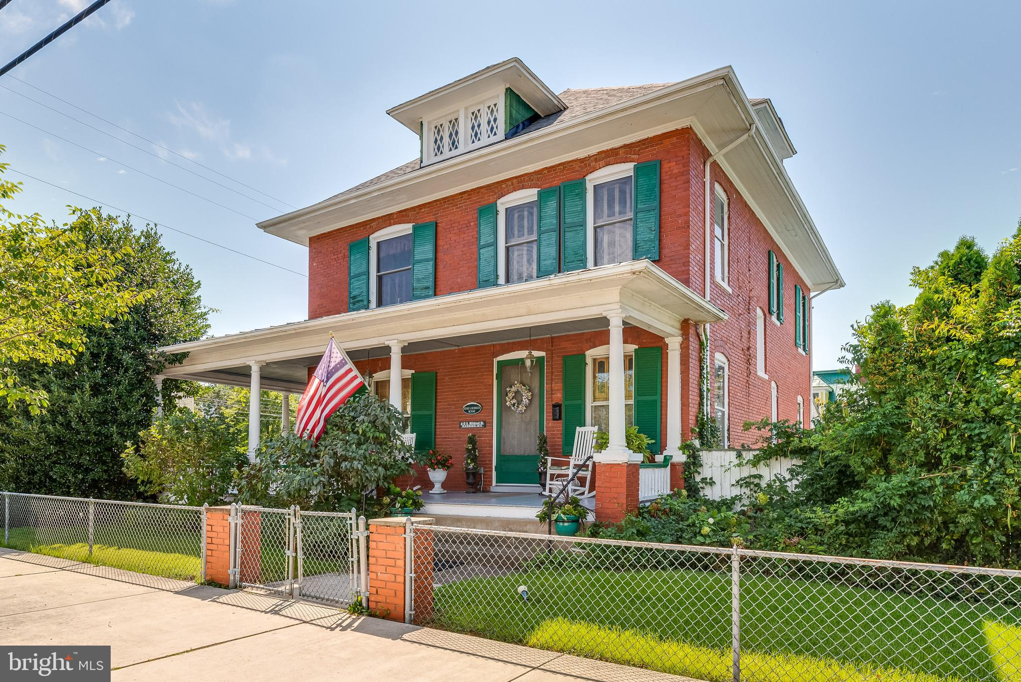 THE ROBINSON HOUSE 410 S. Mildred St, Ranson WV   Dream of owning a grand old brick Victorian? The R