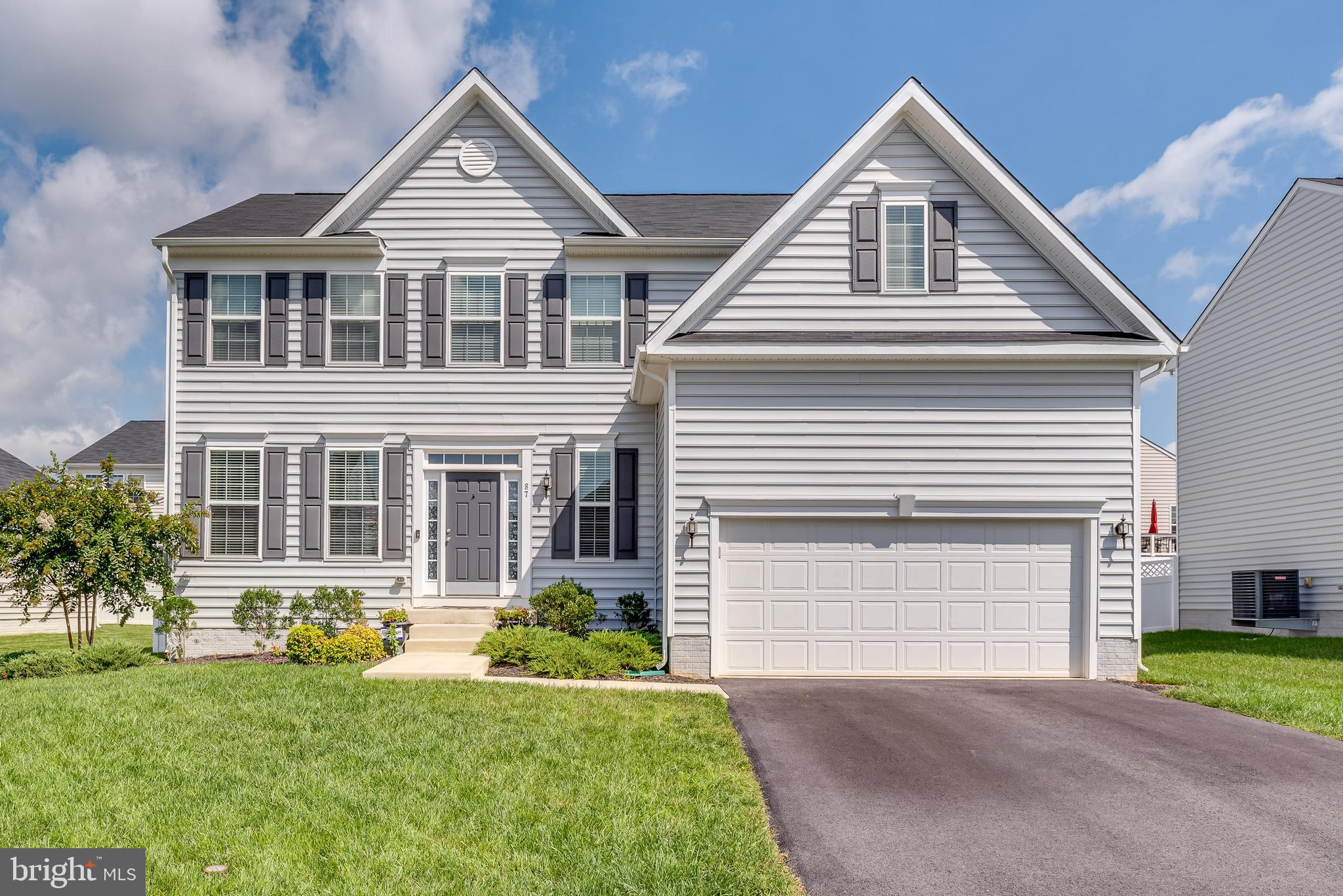 Welcome home. This beautiful home is just three years young and offers great space and an abundance