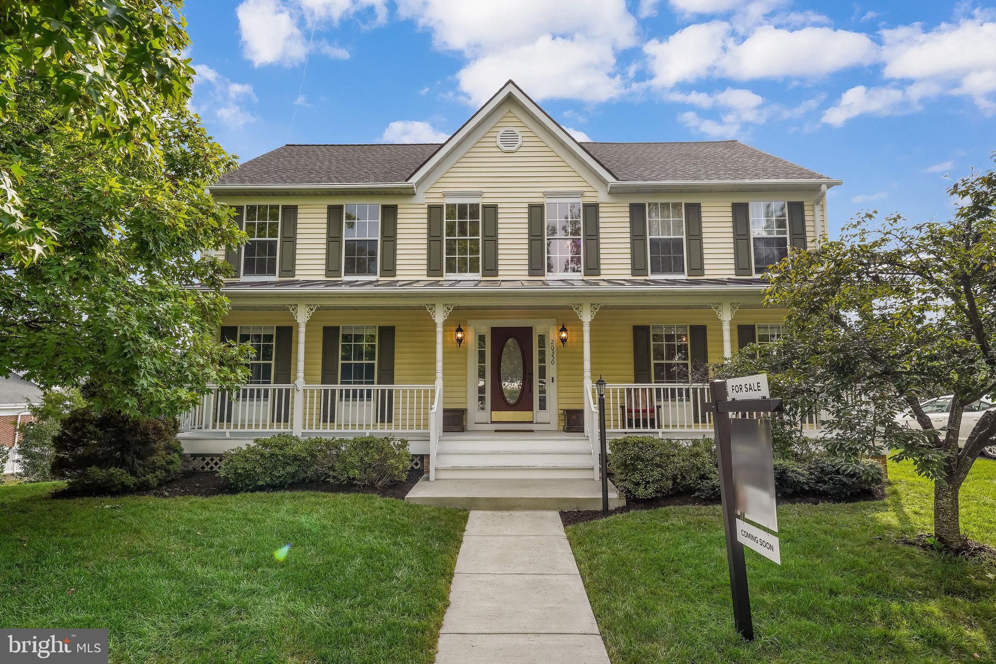 """This house has had only 2 owners and has been meticulously maintained.  This is a warm and welcoming home from the minute you step on the front porch.  Entire house has been freshly painted.  Hardwoods and laminate on the main level and new carpet on the upper level in 2019.  All new stainless steel appliances in the kitchen replaced in 2019 - gas range, built-in microwave, refrigerator, dishwasher, disposal.  New washing machine and dryer in 2019.    New granite in kitchen in 2019.   Tile back splash in the kitchen in 2020.  Hot water heater was replaced in 2017.   The roof is less than 5 years old.   The furnace and hvac were replaced in 2016.  The hot water heater was replaced in 2017.  Gutters have leaf guards.  New R-30 insulation added in 2020.  The current owners have used the fireplace, it works  but """"As-Is"""".   Painter coming on Wed to take care of sprucing up outside trim, front porch and decks.  WOW - not much left to do except move-in and make it your home.  The community park is right across the street.  This home will not disappoint you."""