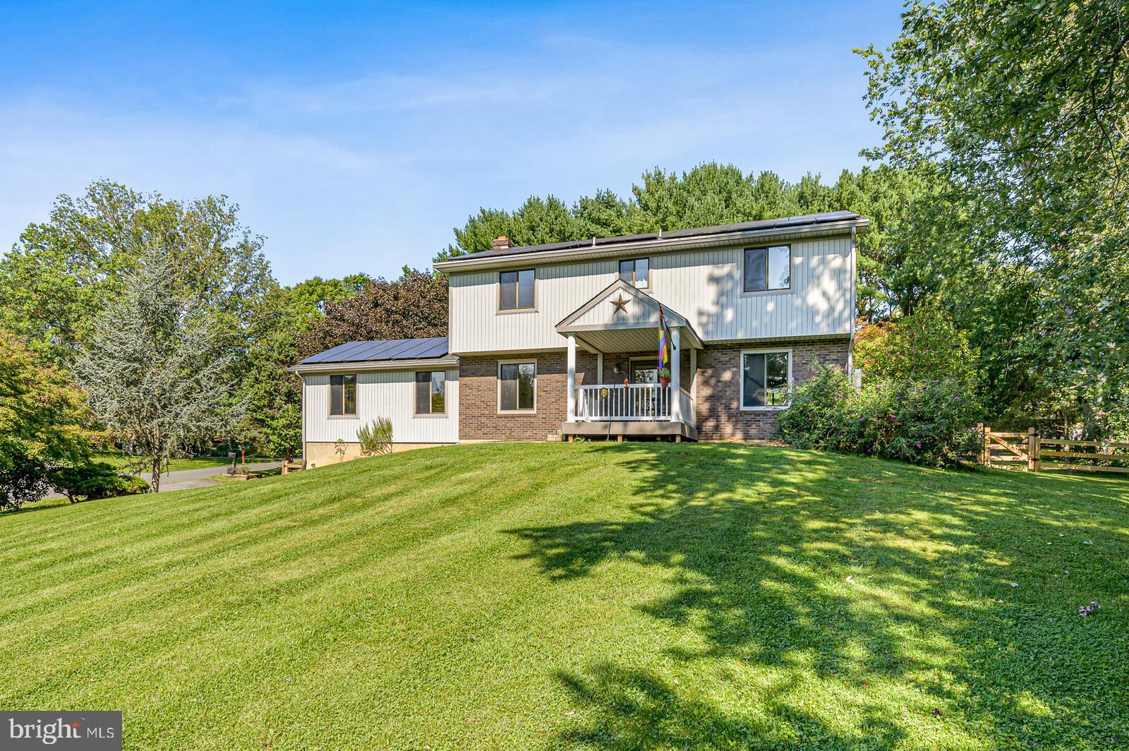 This beautiful 4 bedroom, 2.5 bath home in the Tara neighborhood of Fair Hill, MD is located the cor