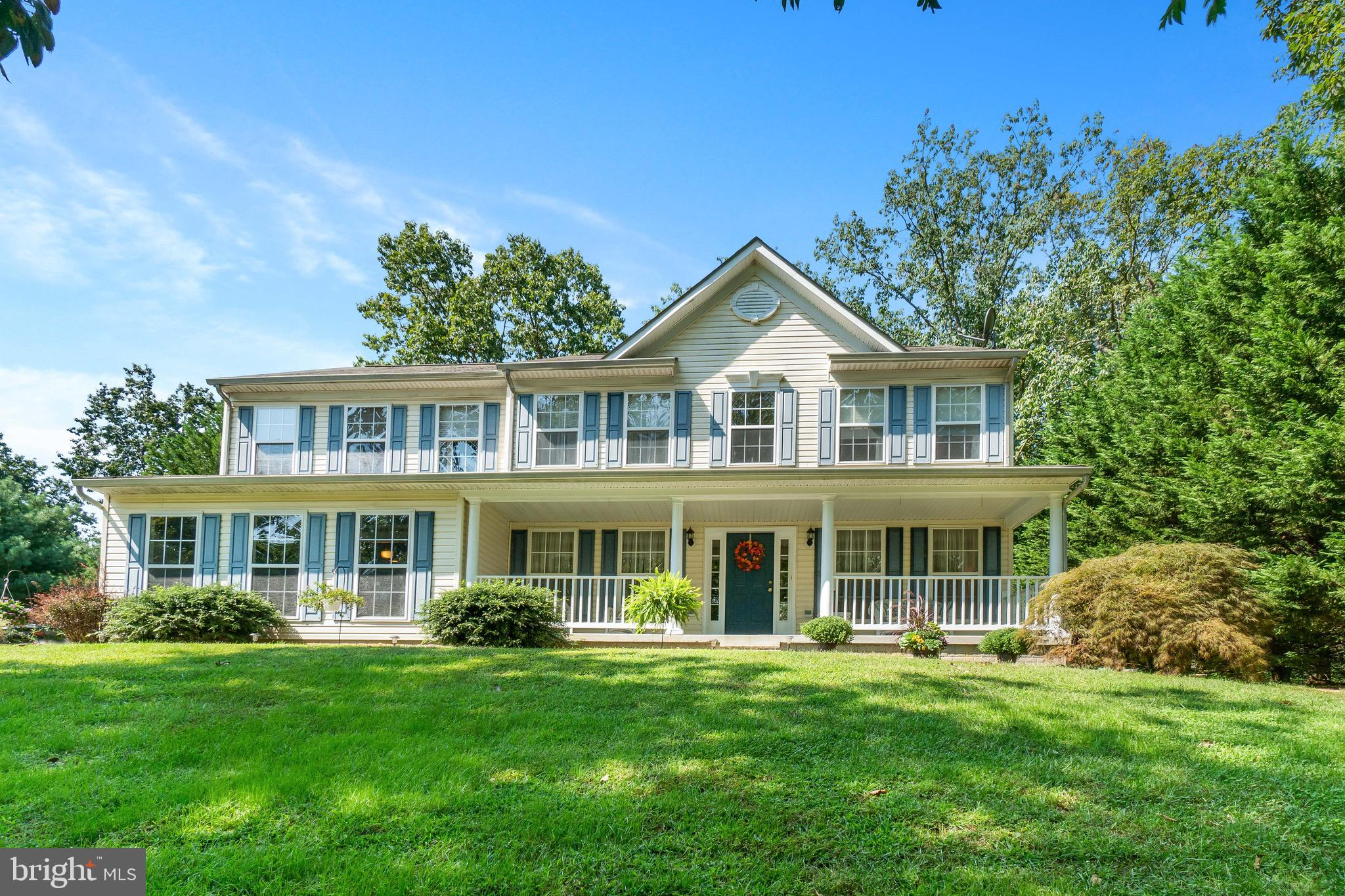 Don't miss this 4BR, 2 full and 2 half baths  spacious colonial .   Relax on your  front porch or en