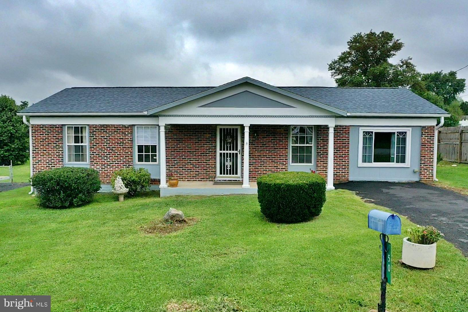True one level living at an affordable price! This lovely 3 bedroom, 2.5 bath, brick front Rancher f